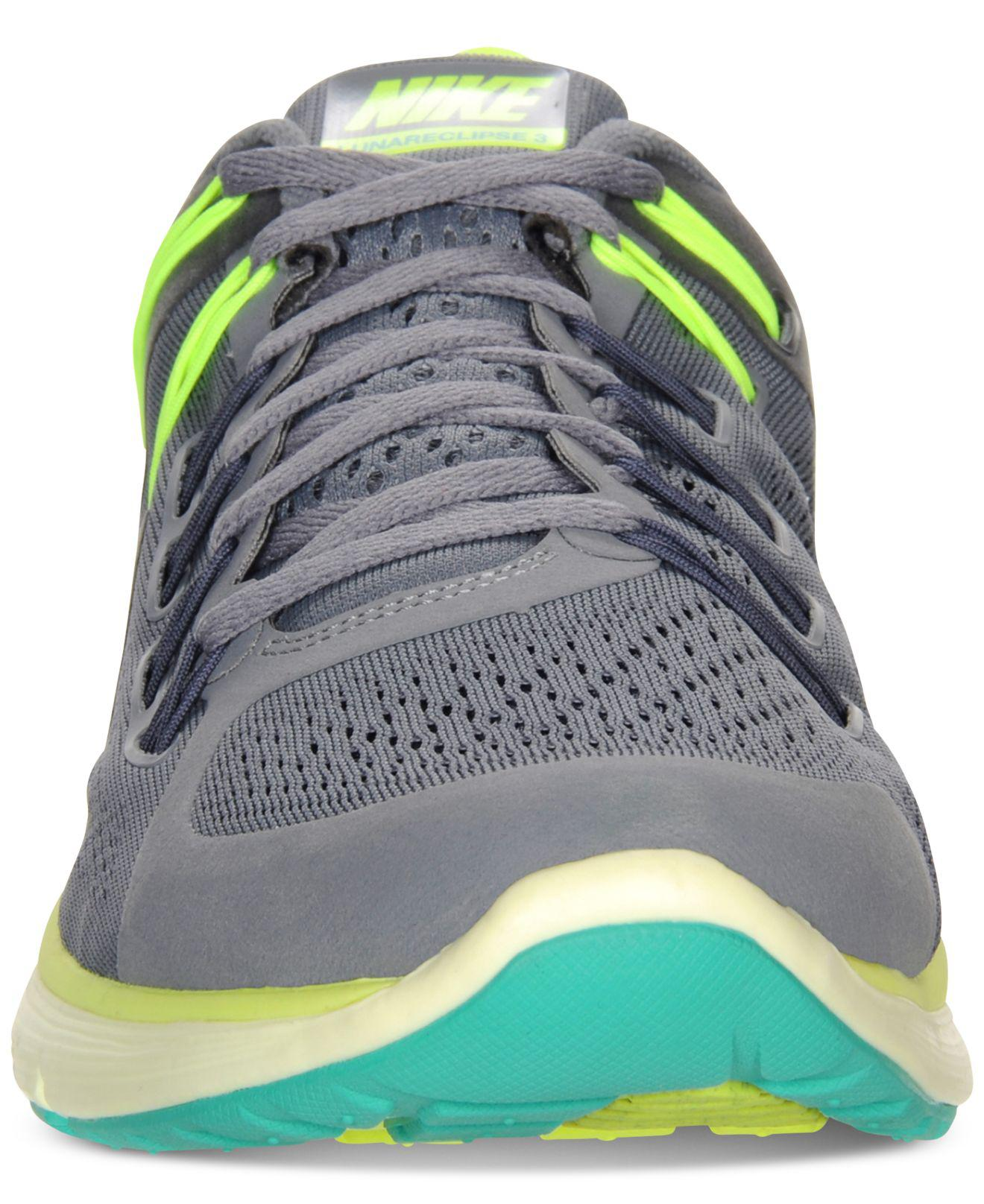 Lyst Nike Lunareclipse 3 Sneakers From Finish Line In Gray For Men