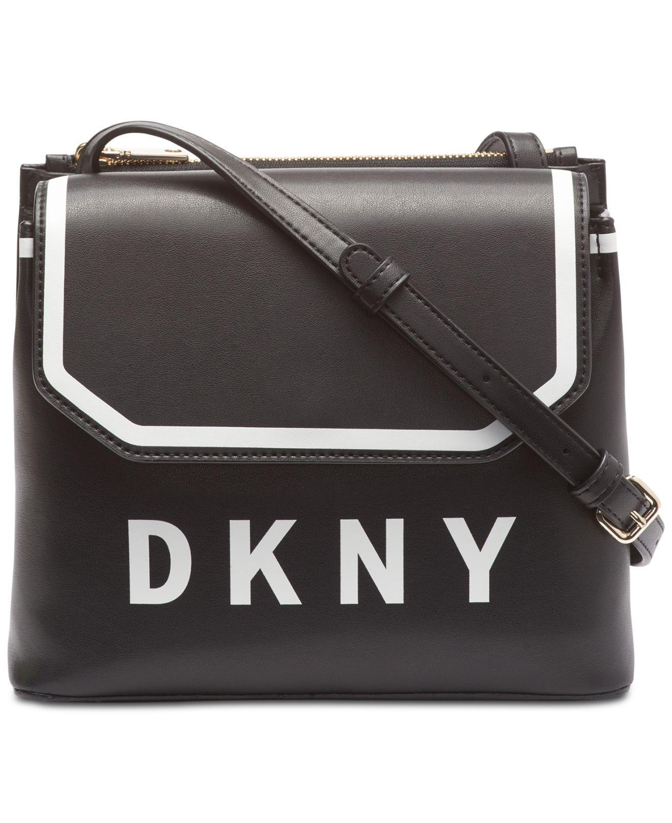 d2004720d9 Lyst - DKNY Jade Flap Crossbody