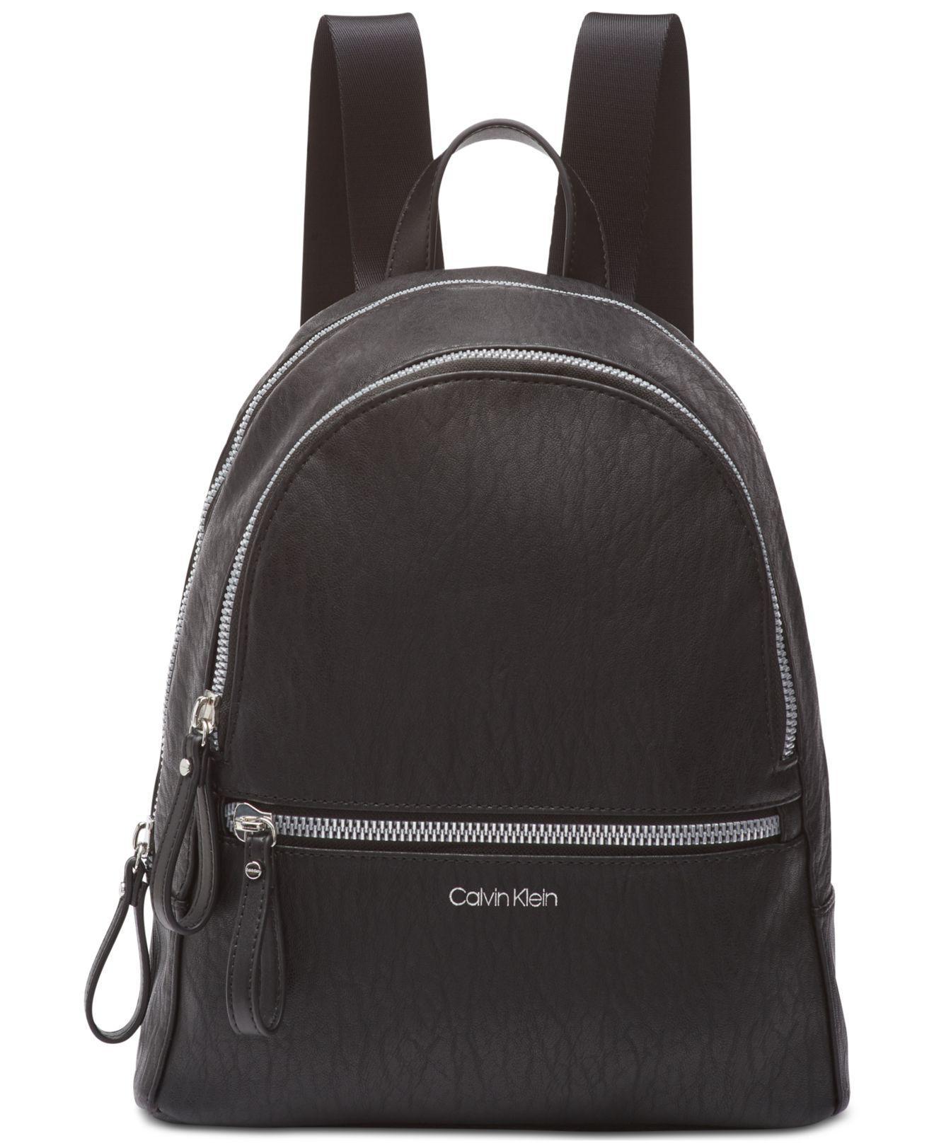 02c2c9afead0 Calvin Klein - Black Elaine Backpack - Lyst. View fullscreen