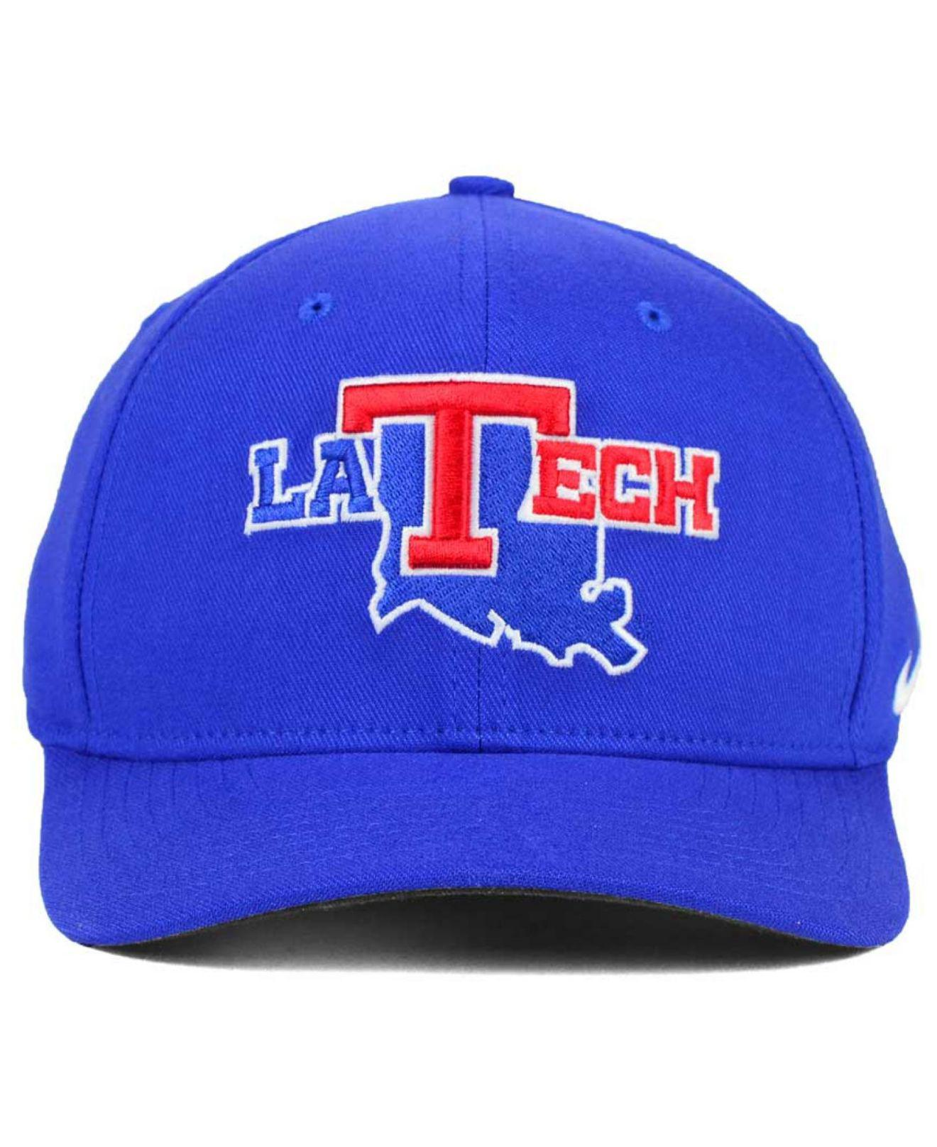 Lyst - Nike Louisiana Tech Bulldogs Classic Swoosh Cap in Blue for Men c2dd280b84e4