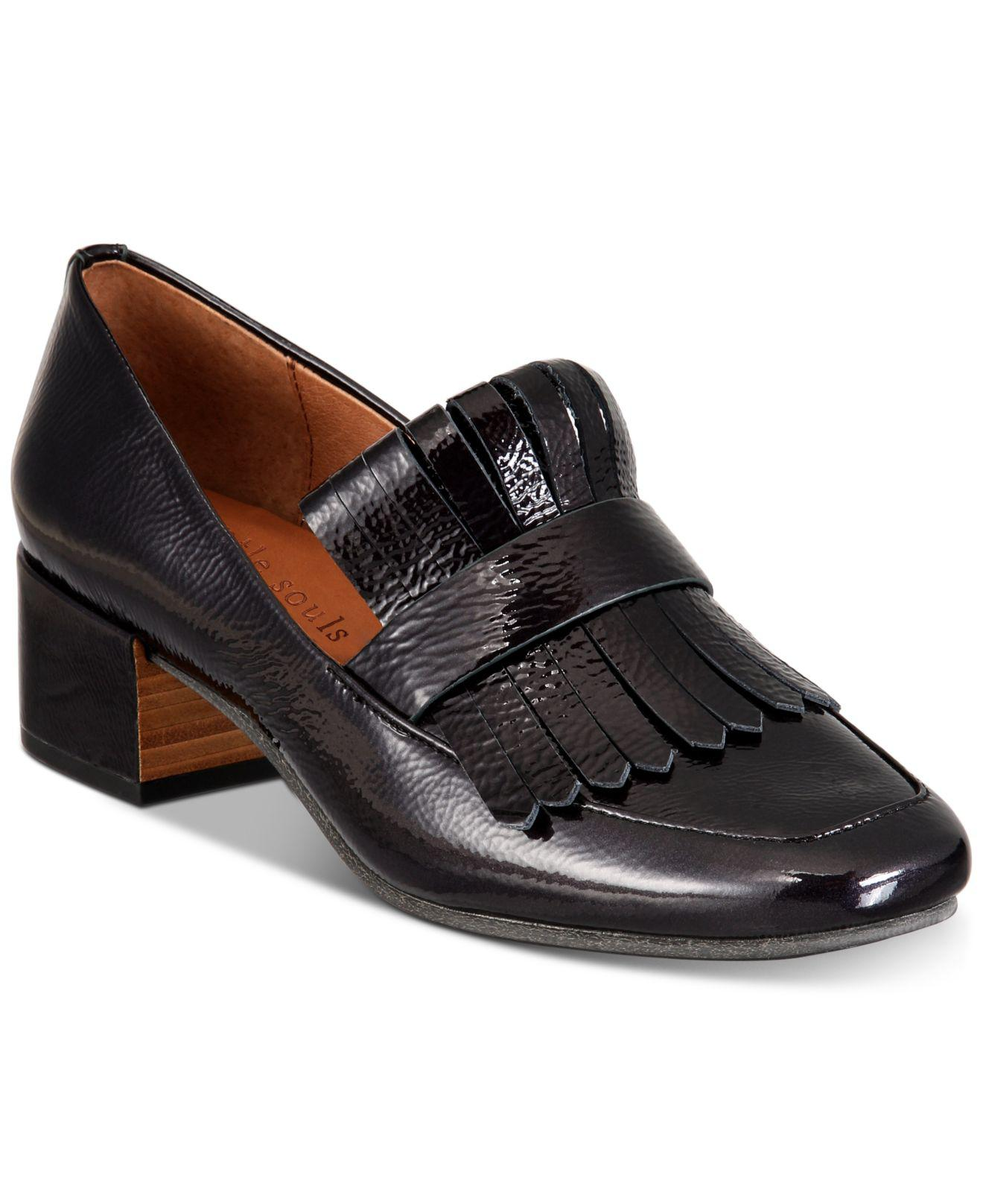 aff4f337010 Lyst - Gentle Souls Ethan Kiltie Loafer in Black - Save 50%