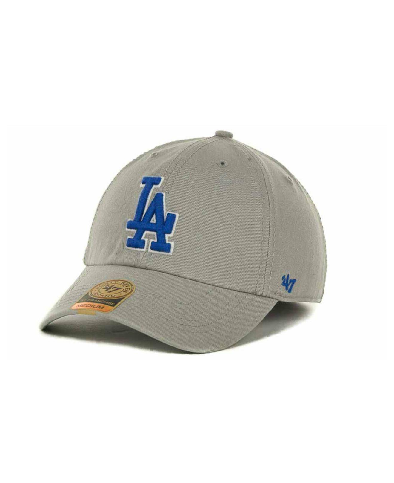 purchase cheap df93b 25a92 ... Los Angeles Dodgers Franchise Cap for Men - Lyst. View fullscreen
