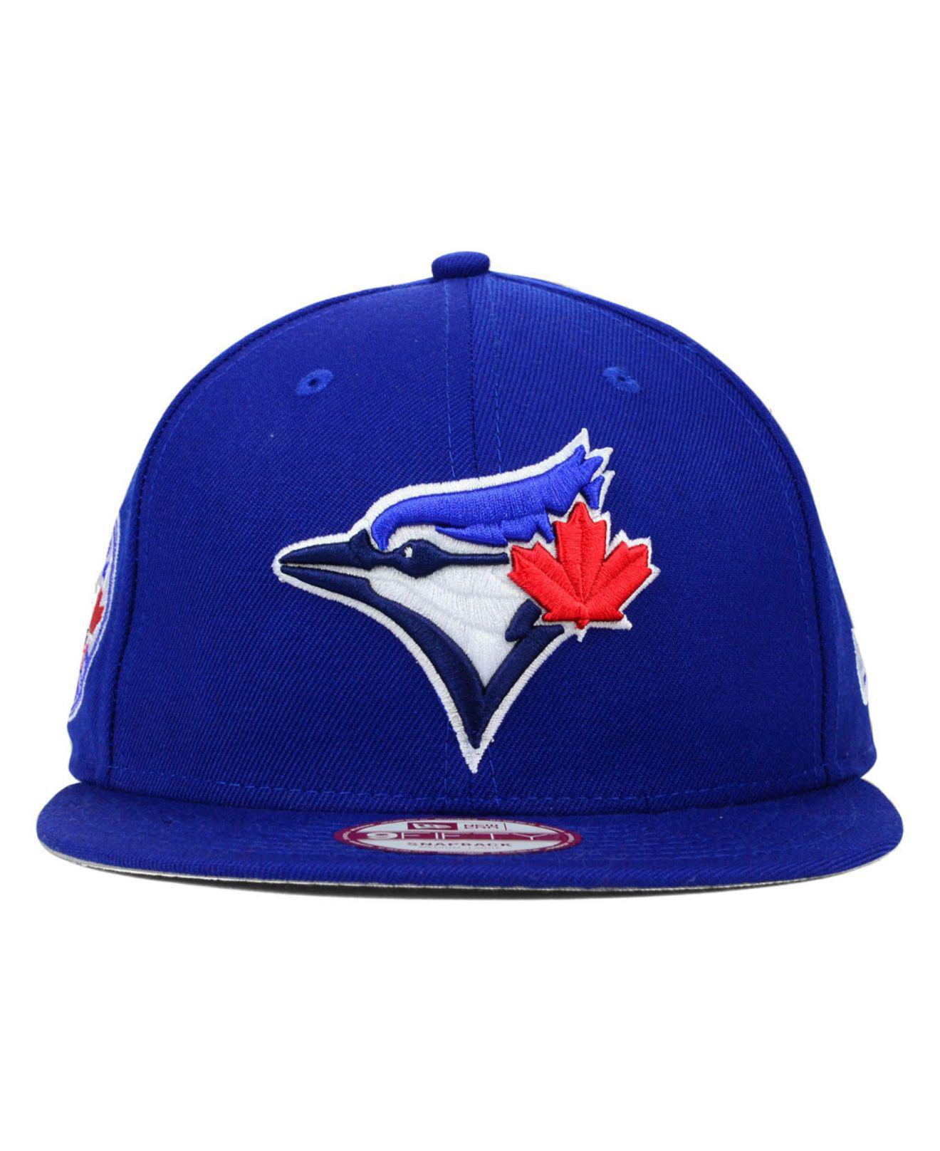 83ff2ea9978 Lyst - KTZ Toronto Blue Jays 2 Tone Link 9fifty Snapback Cap in Blue for Men