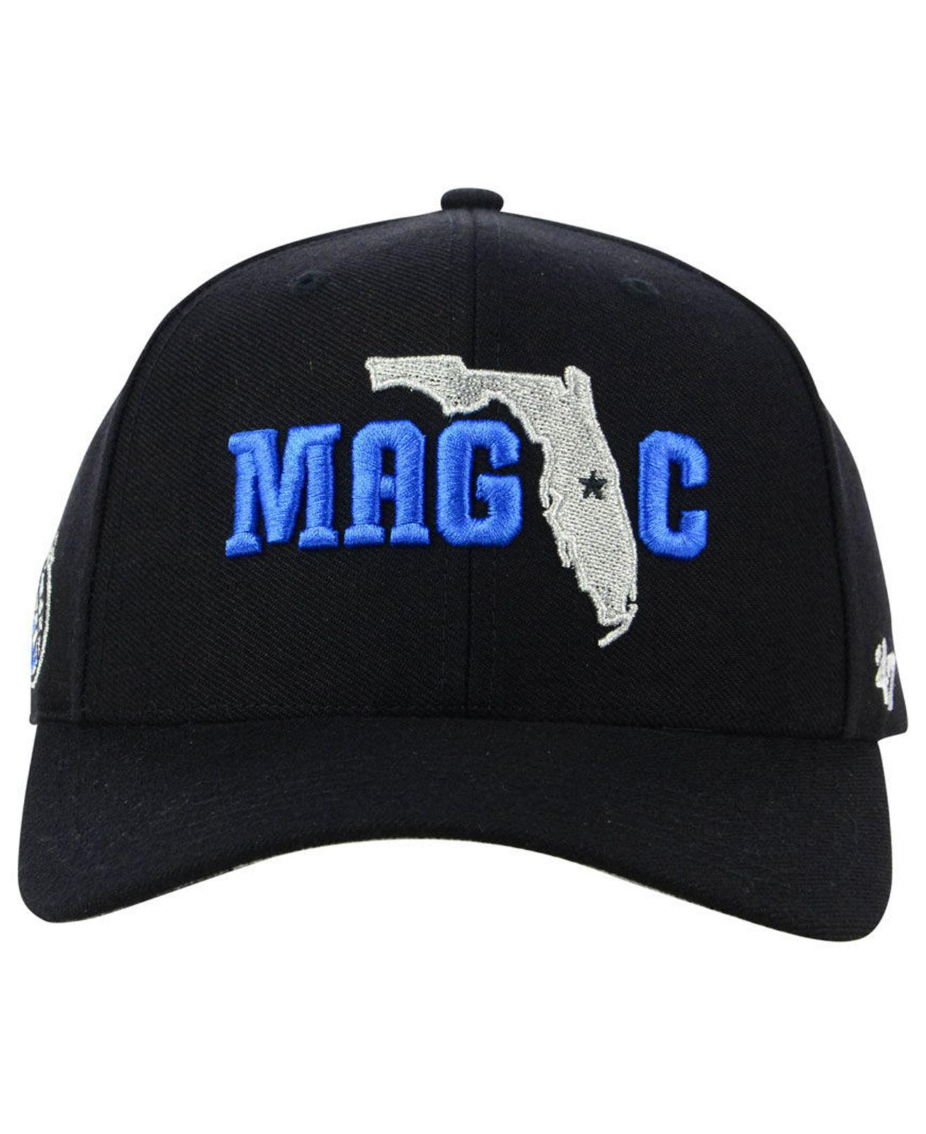 the best attitude 24e36 8fa83 ... czech lyst 47 brand orlando magic all region mvp cap in black for men  93e57 8c4bf