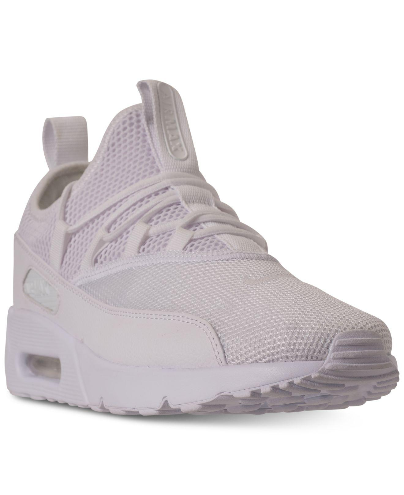 Lyst - Nike Air Max 90 Ez Casual Sneakers From Finish Line in White e42652664