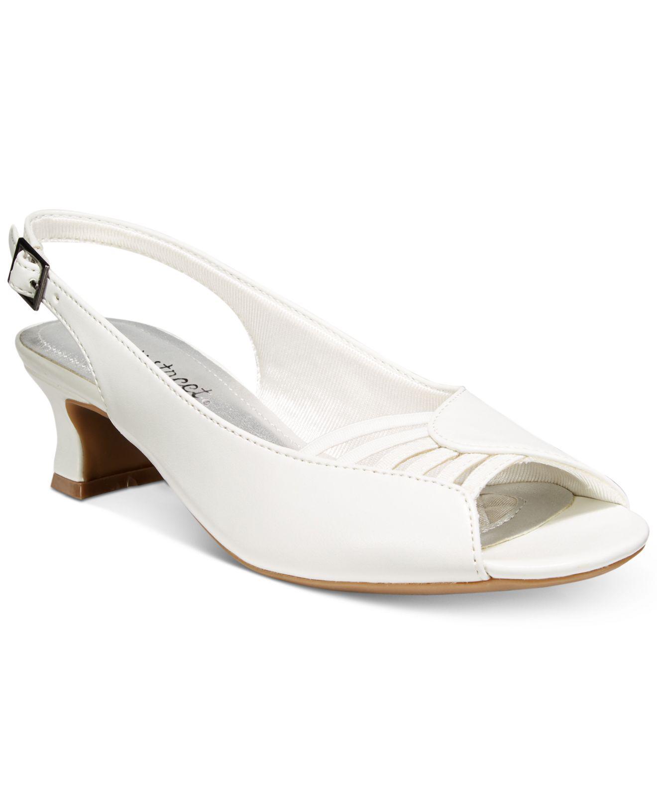 White Slingback Shoes Australia