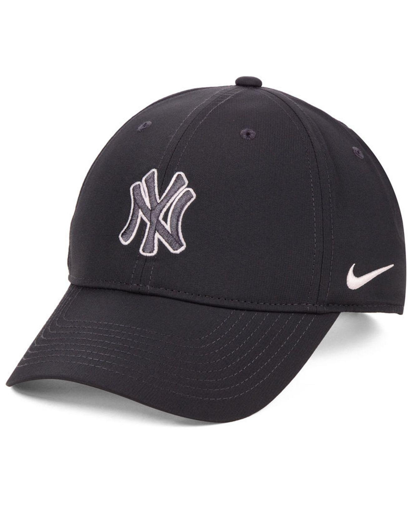 af9e6dc97a1 Lyst - Nike New York Yankees Legacy Performance Strapback Cap in ...