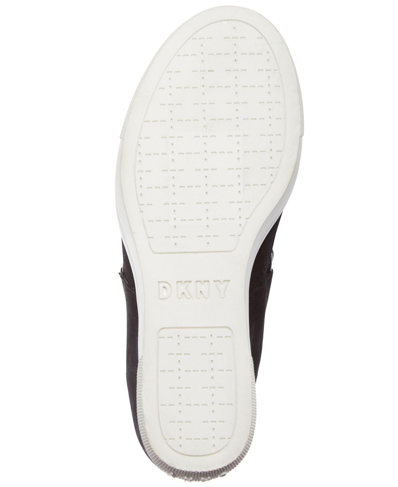 646fd1159484 DKNY - Black Cosmos Platform Sneakers