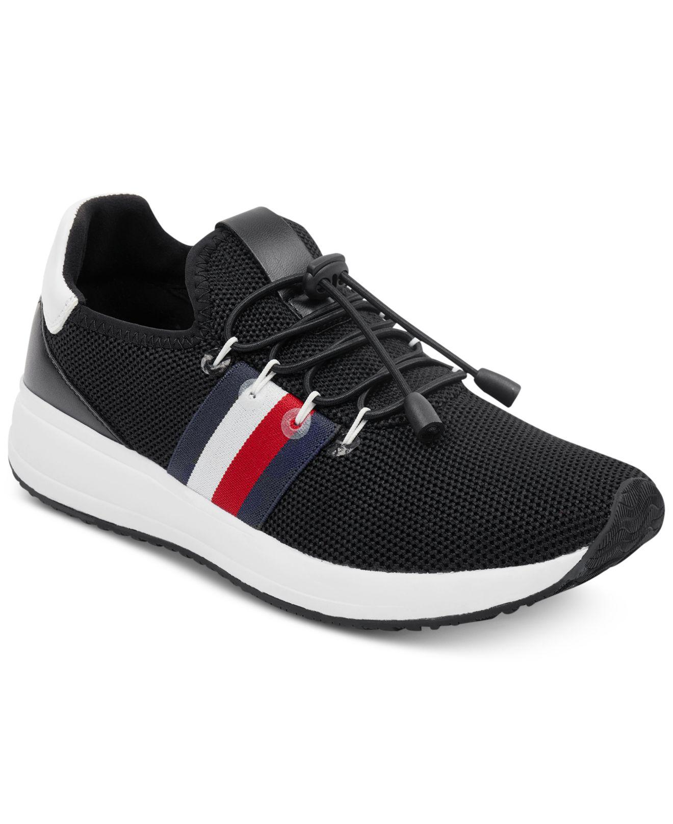 a0f51b7097d315 Lyst - Tommy Hilfiger Rhena Sneakers in Black