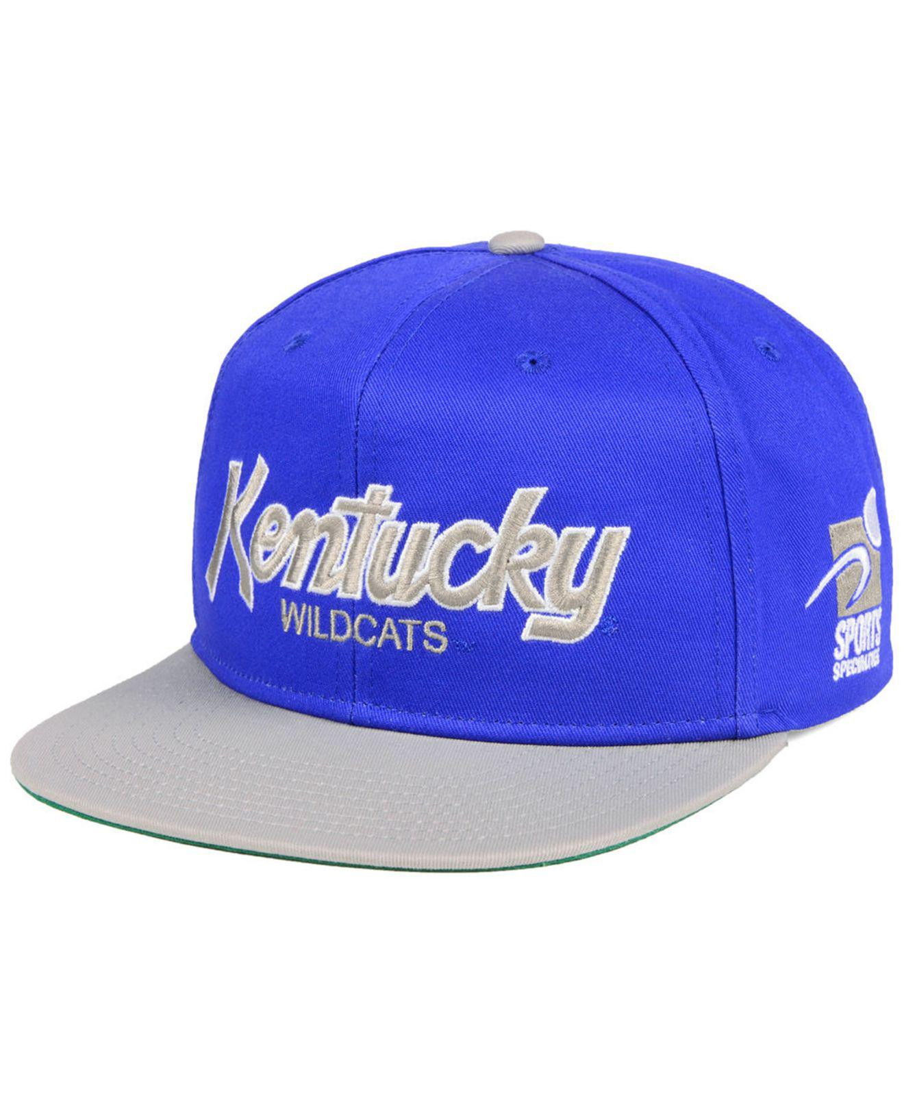 the latest 84aa3 65ada Nike. Men s Blue Kentucky Wildcats Sport Specialties Snapback Cap