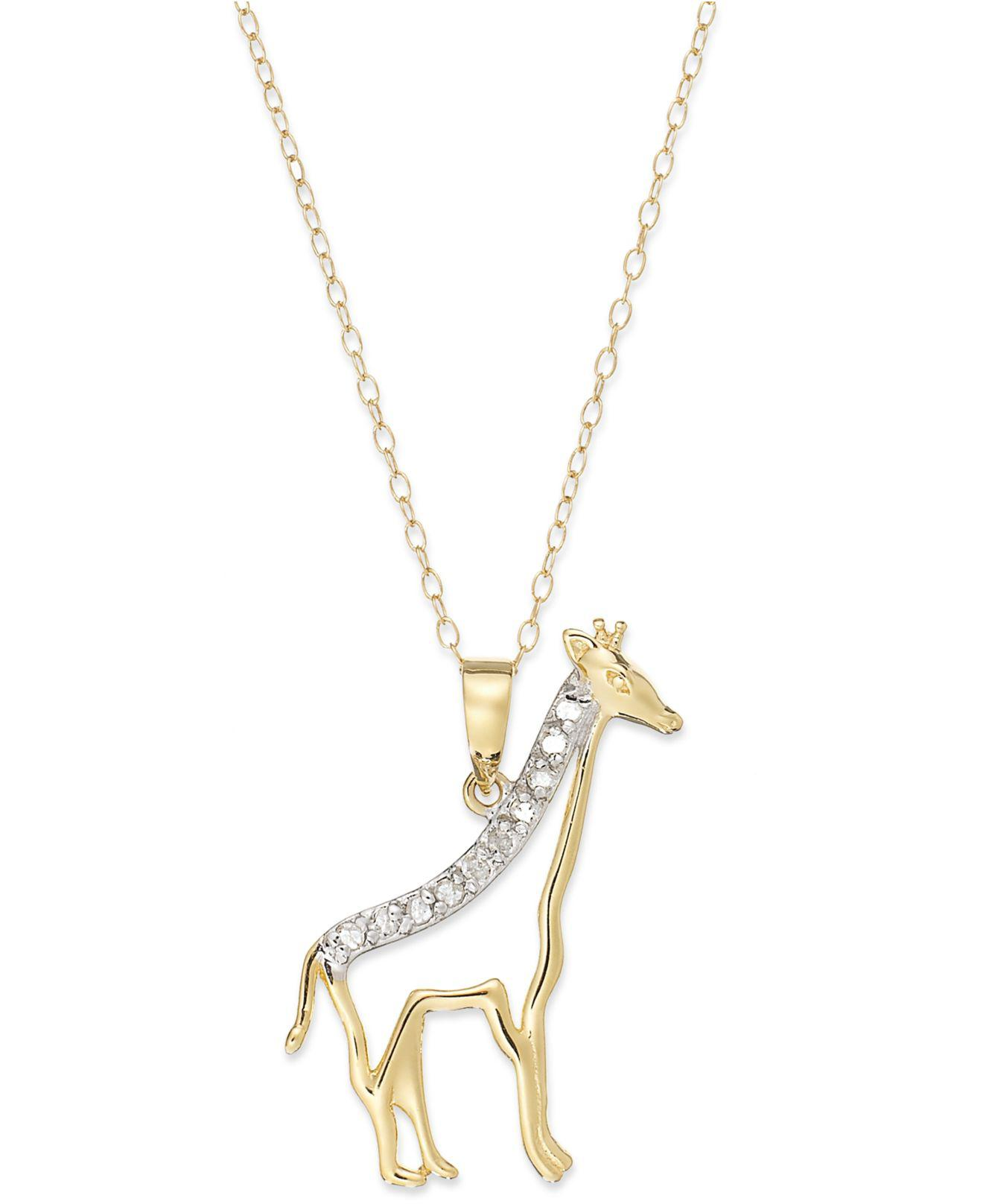 tiger giraffe ct diamonds s in itm gold natural tigers with pendant eye