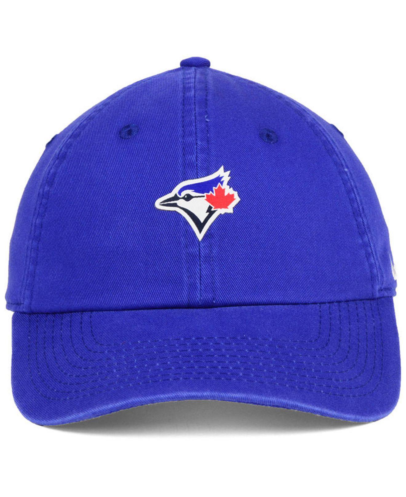5212bfcff10 ... order lyst nike toronto blue jays micro cap in blue for men 8baf1 3f7e0