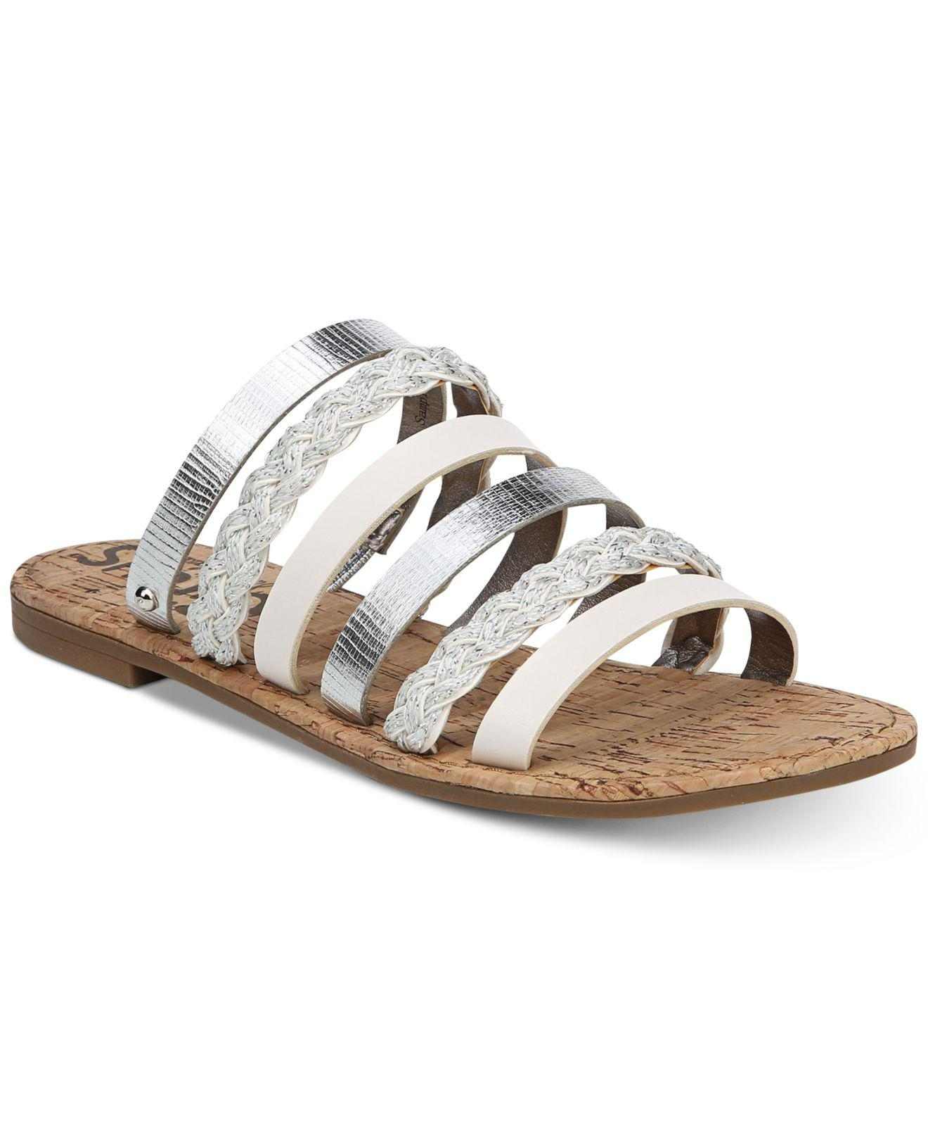 f3498e5aa5a Lyst - Circus by Sam Edelman Braiden Slide Sandals in Metallic