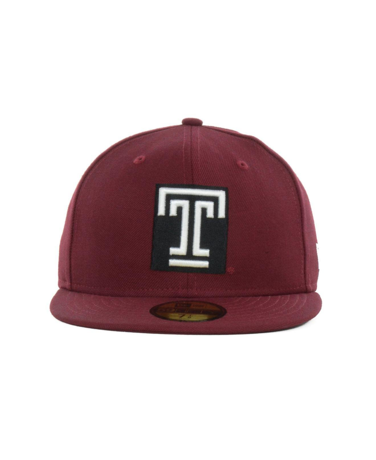 new product 06c07 a85d2 Lyst - KTZ Temple Owls 59fifty Cap in Red for Men