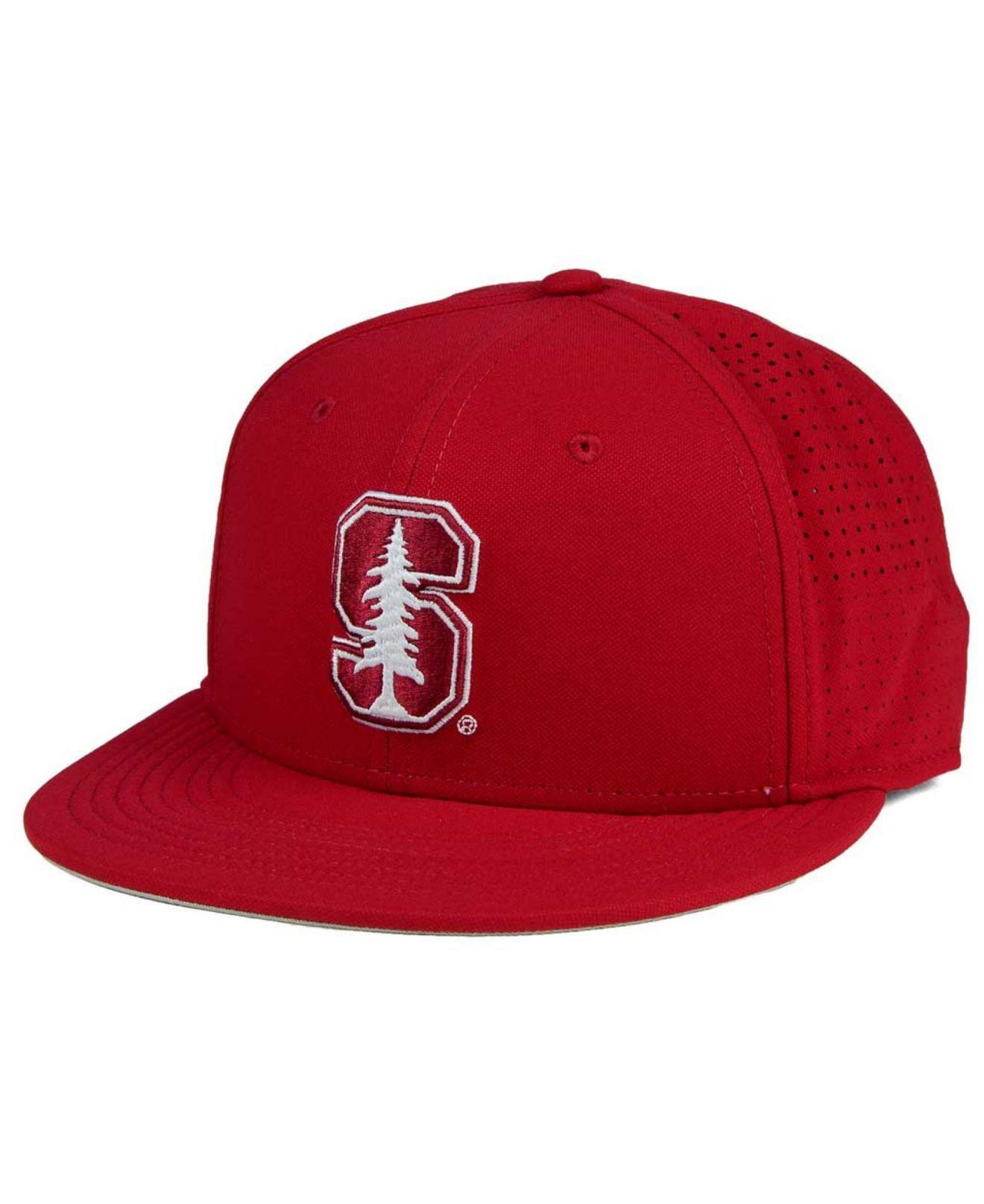 meet f4526 b53b4 Nike. Men s Red Stanford Cardinal True Vapor Fitted Cap