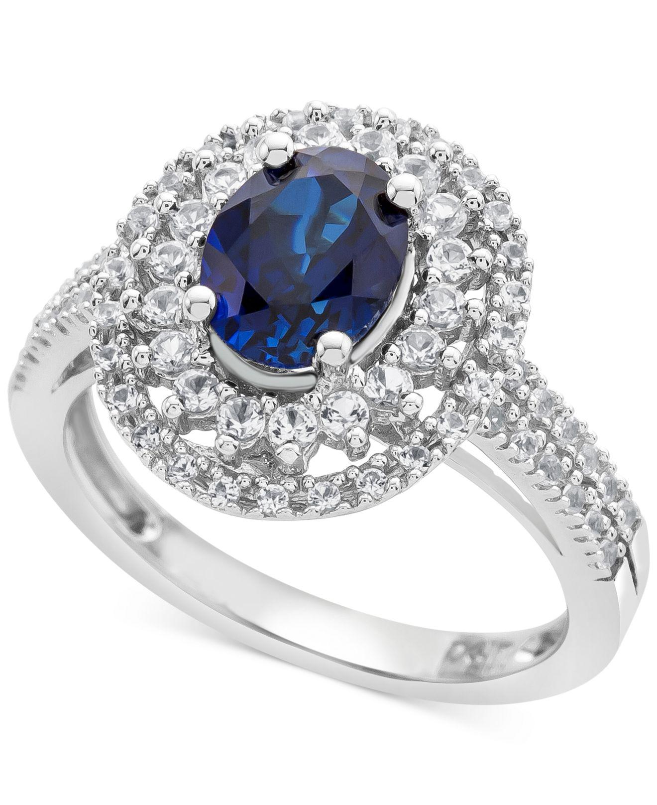 asteria sterling ip rings engagement black g t silver white sapphire lab w walmart ring created carat com and diamond