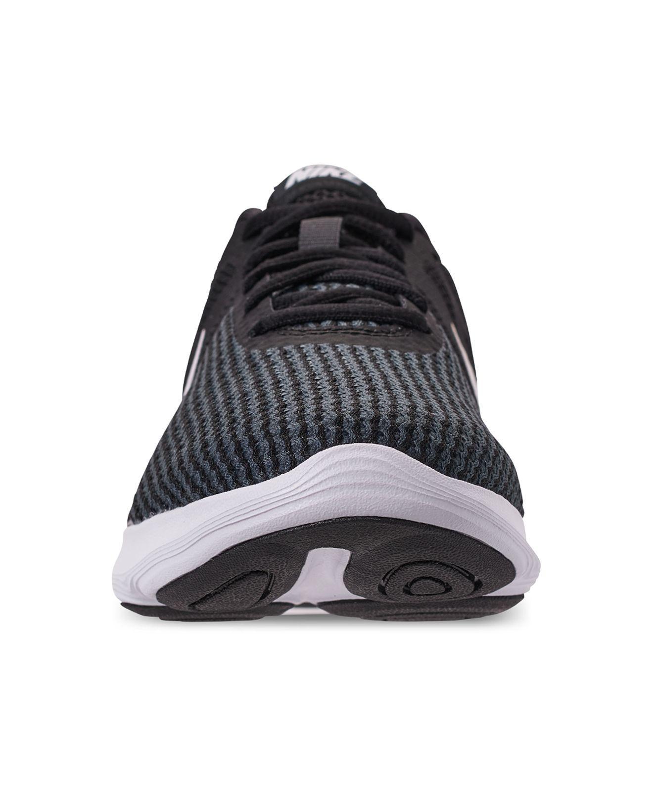116e10b52604 Nike - Black Revolution 4 Wide Width Running Sneakers From Finish Line -  Lyst. View fullscreen