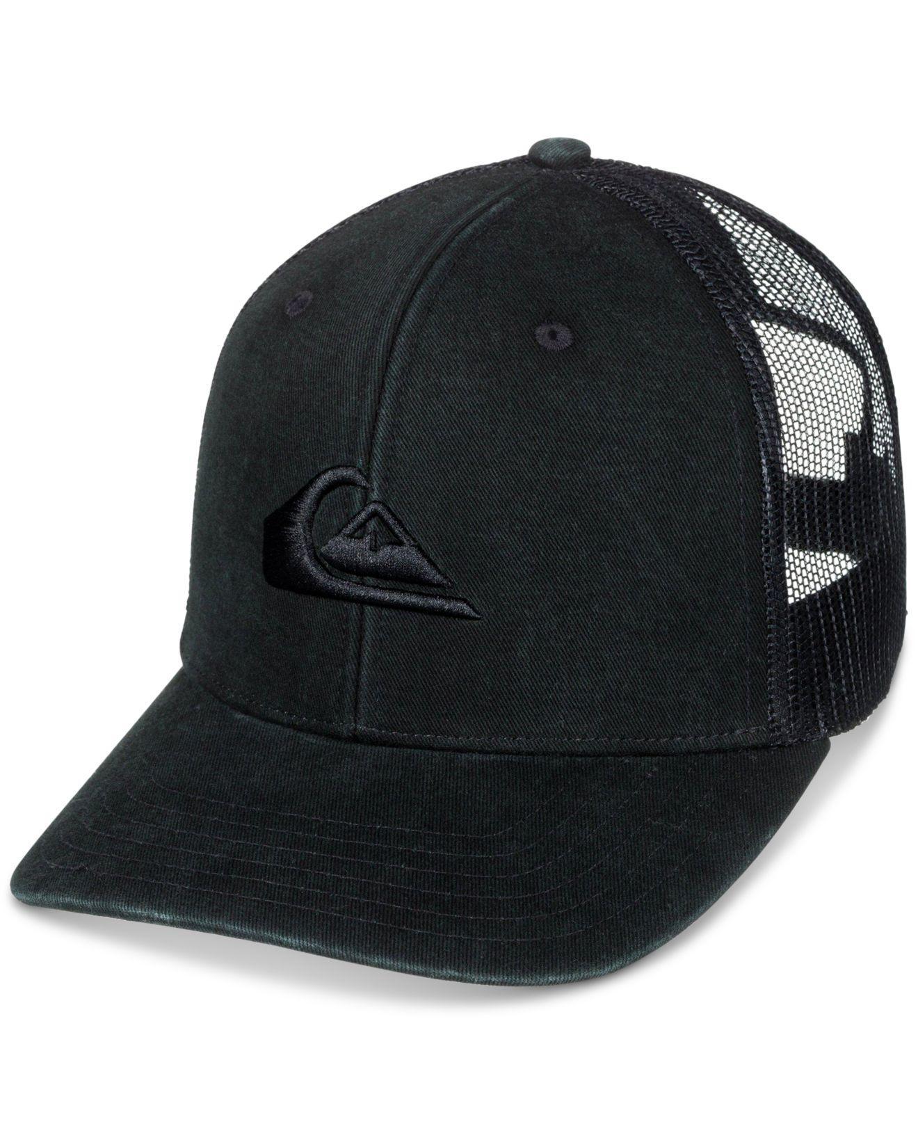 online store 8dd10 80101 Quiksilver. Men s Black Grounder Camo Snapback