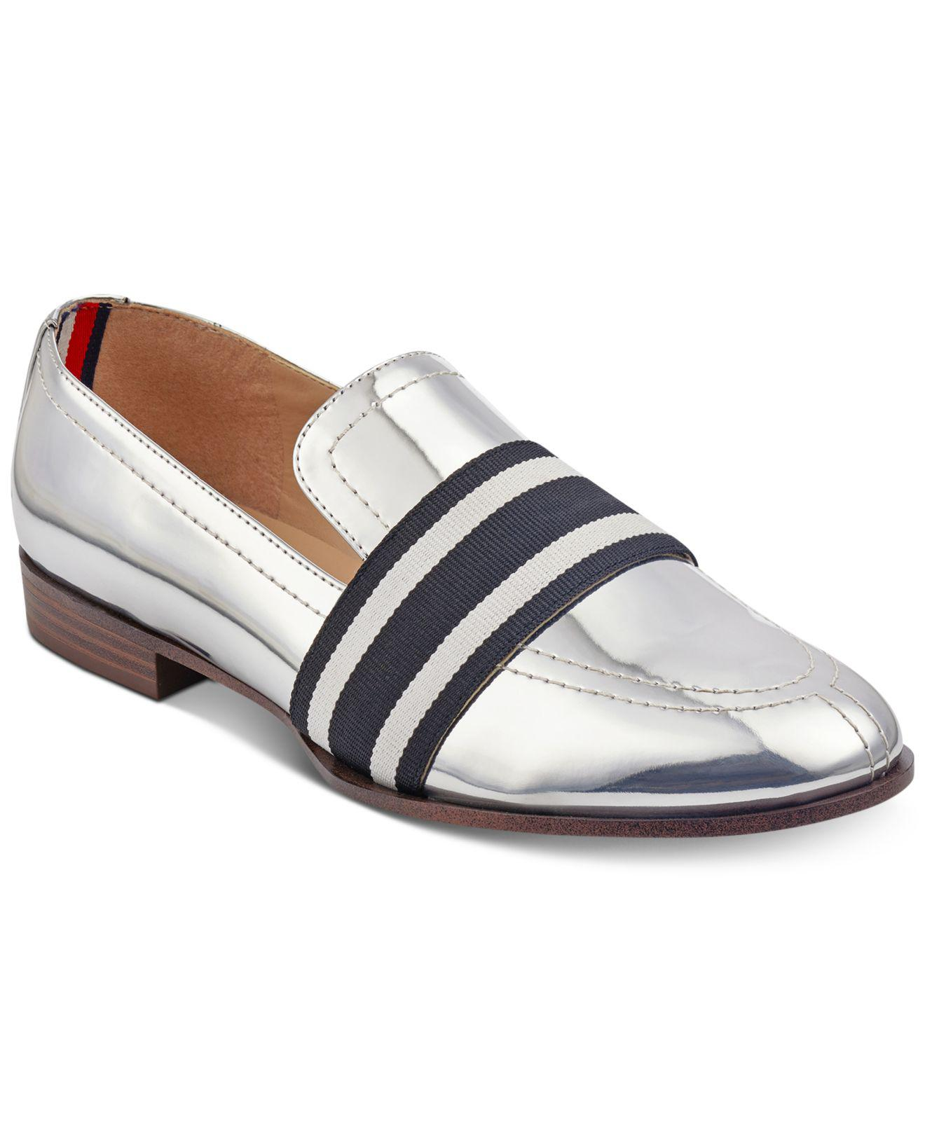 1470bb6f4 Lyst - Tommy Hilfiger Ignaz Loafers in Metallic