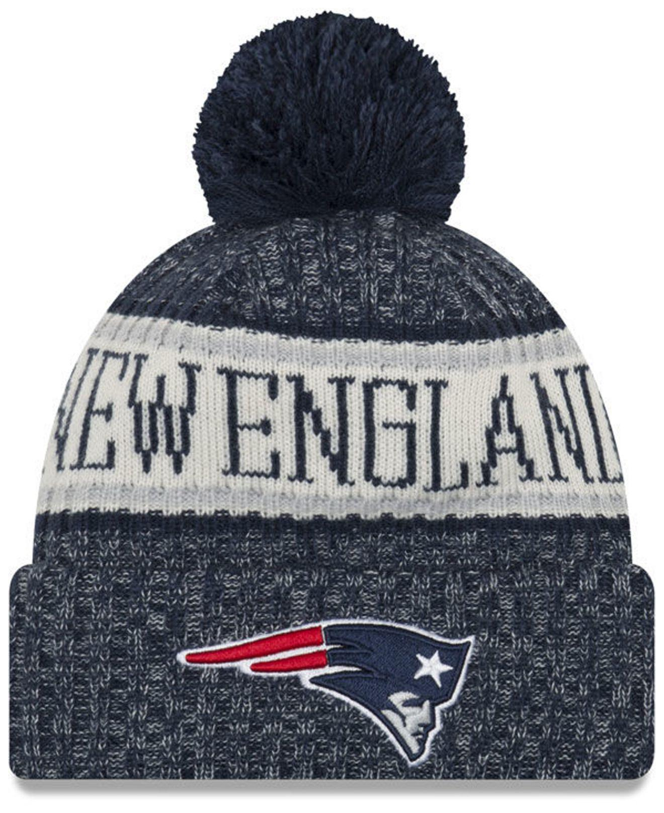 1be94ae2 Lyst - KTZ New England Patriots Sport Knit Hat in Blue for Men