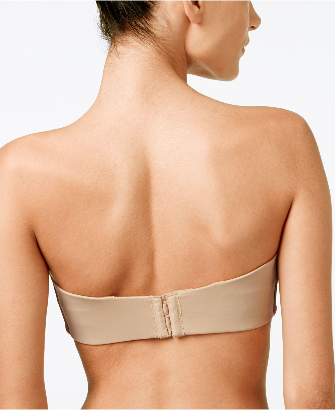 29b60effcd Lyst - Lilyette Tailored Strapless Minimizer Bra 939 in Natural - Save 5%