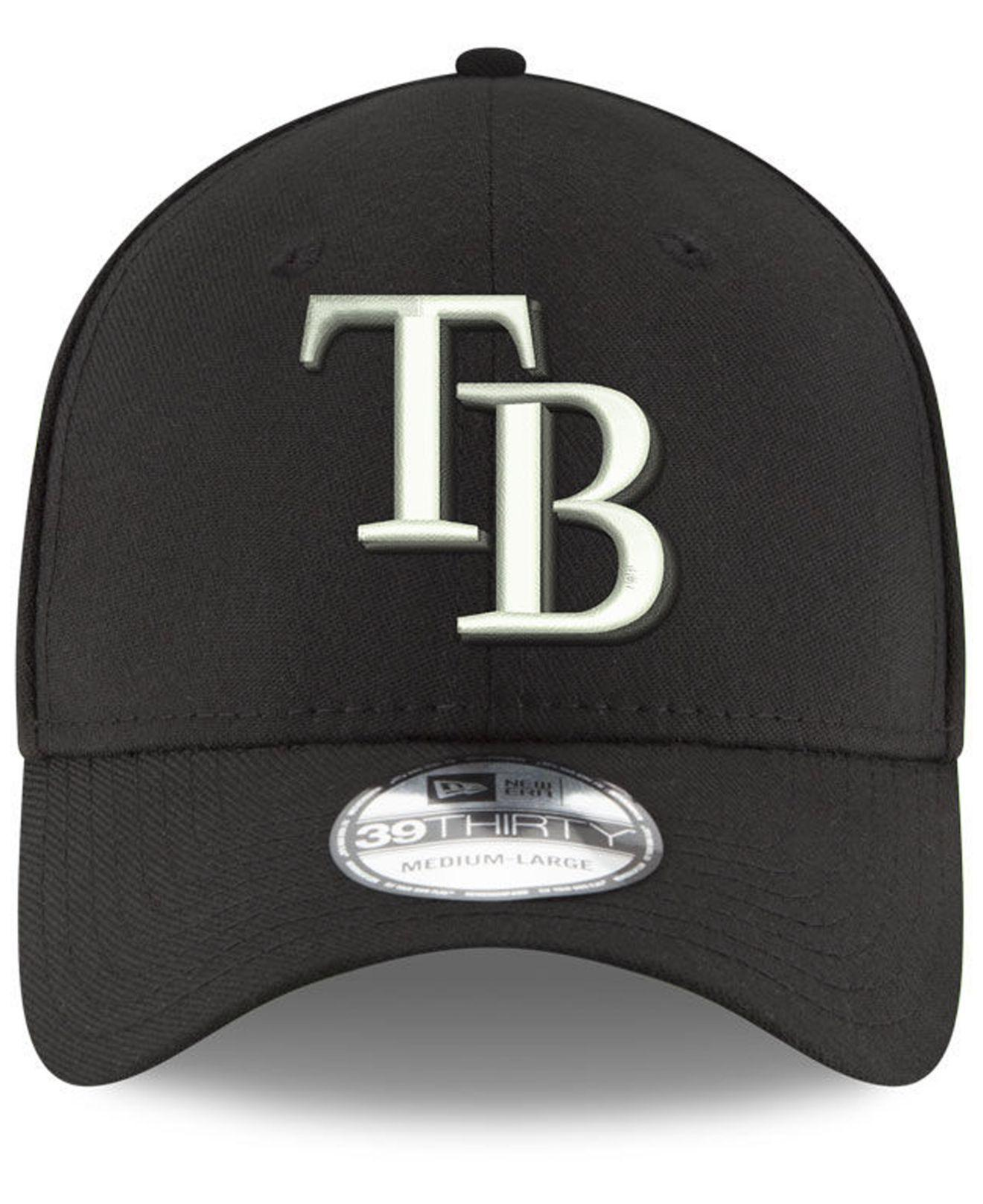 official photos 8ef91 a8b40 KTZ Tampa Bay Rays Dub Classic 39thirty Cap in Black for Men - Lyst
