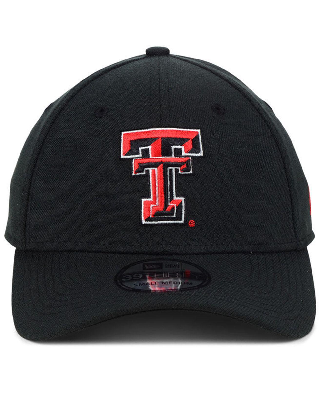 the best attitude 262bb 88118 ... sweden lyst ktz texas tech red raiders college classic 39thirty cap in  black for men dd1ea