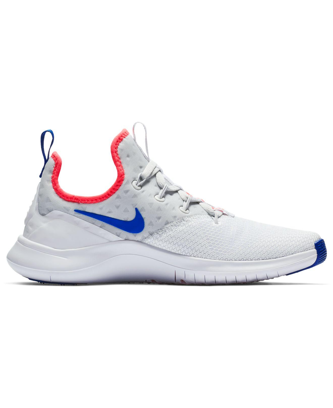 Lyst - Nike Free Tr 8 Training Sneakers From Finish Line in Blue 8a8cfa19b
