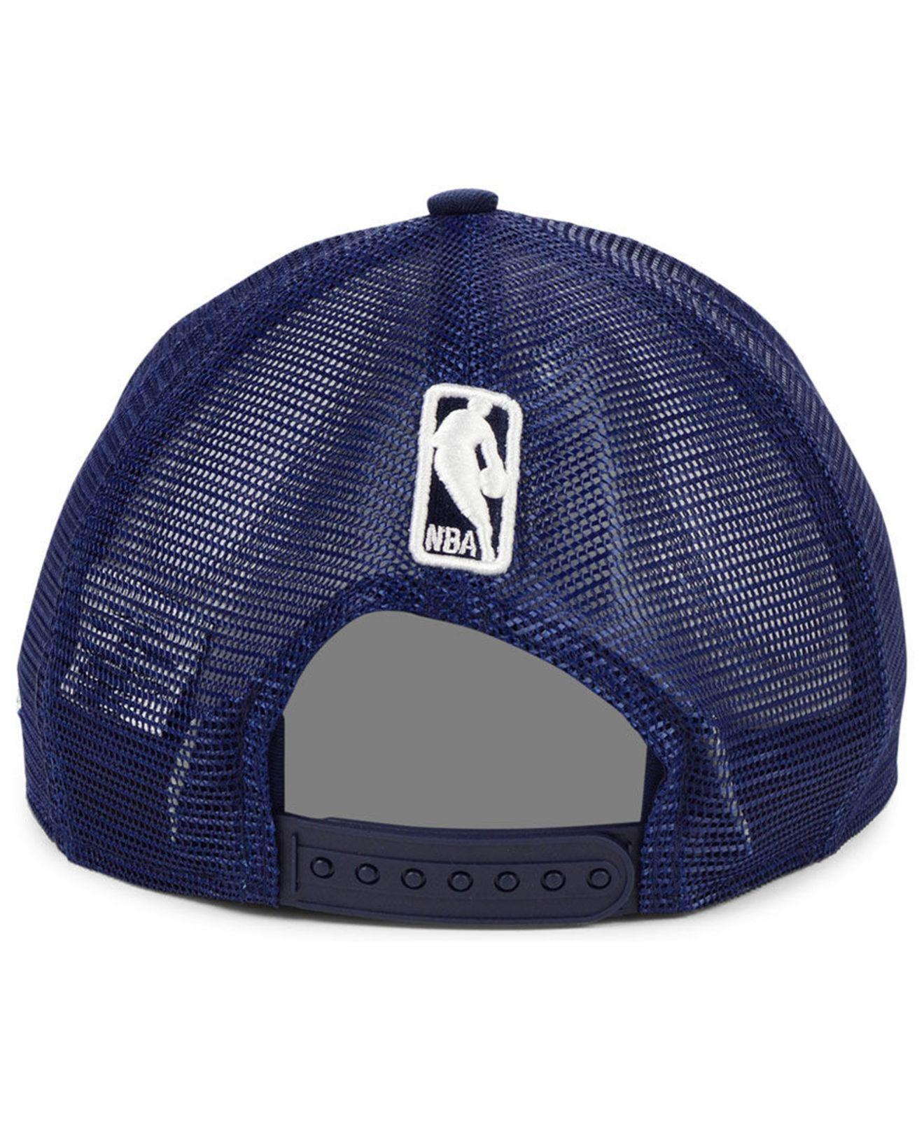 big sale 38ebb 2cb07 KTZ Utah Jazz Dub Fresh Trucker 9fifty Snapback Cap in Blue for Men - Lyst