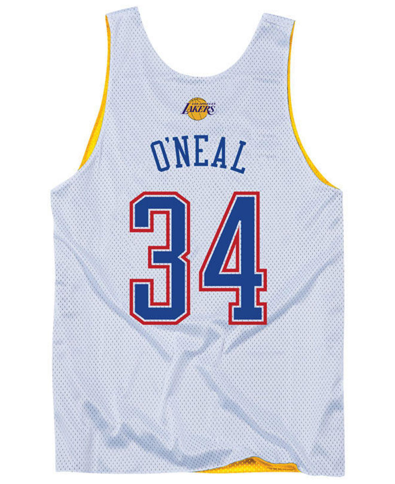 19a03b1c6 Lyst - Mitchell   Ness Shaquille O neal Nba All Star 2004 Reversible ...