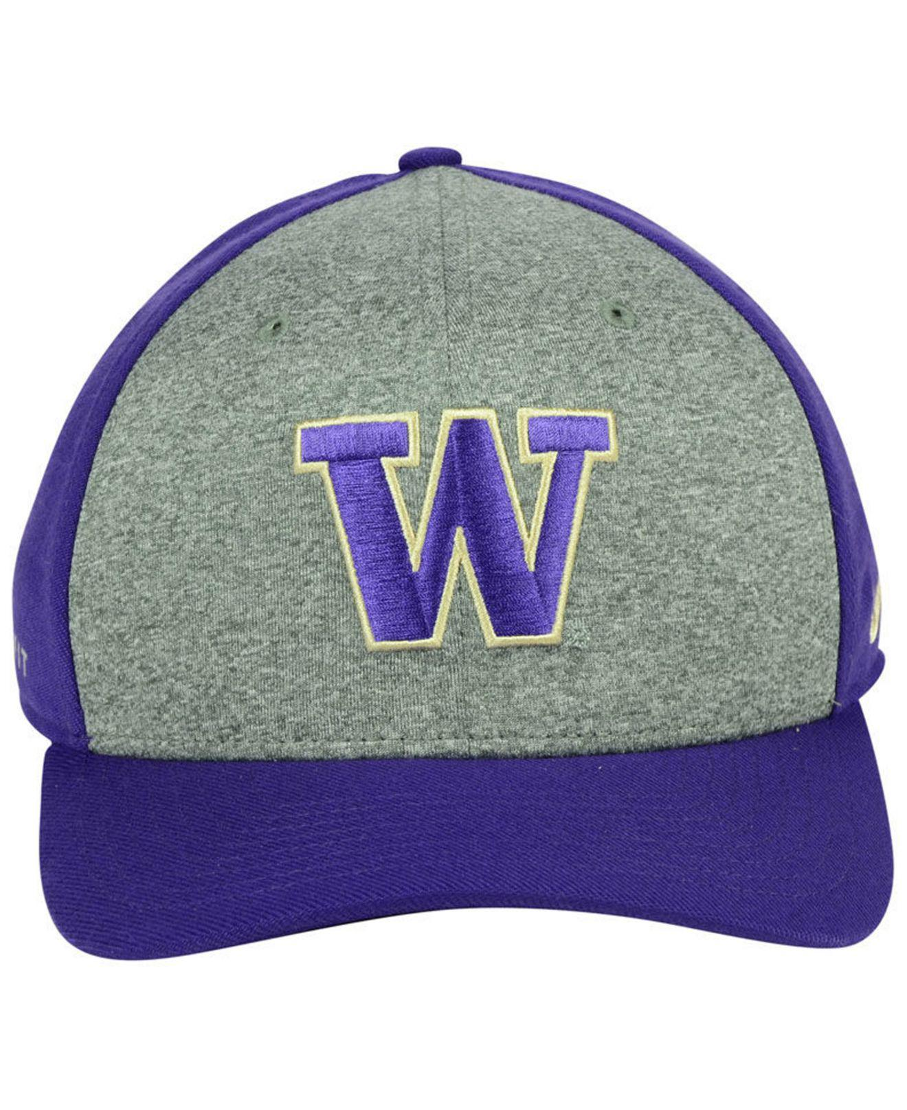 buy popular 1a764 290cc inexpensive lyst nike washington huskies legend swooshflex cap in purple  for men e49fb 5656f