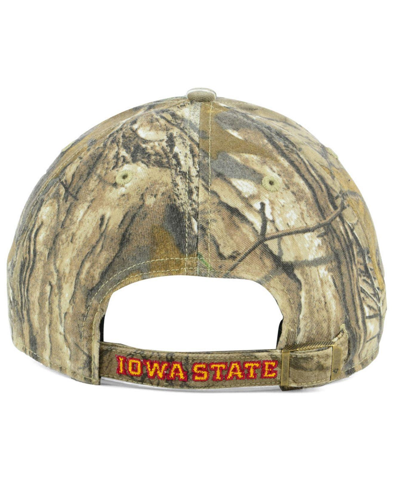 new concept 52282 d2902 47 Brand - Multicolor Iowa State Cyclones Real Tree Clean Up Cap for Men -  Lyst. View fullscreen
