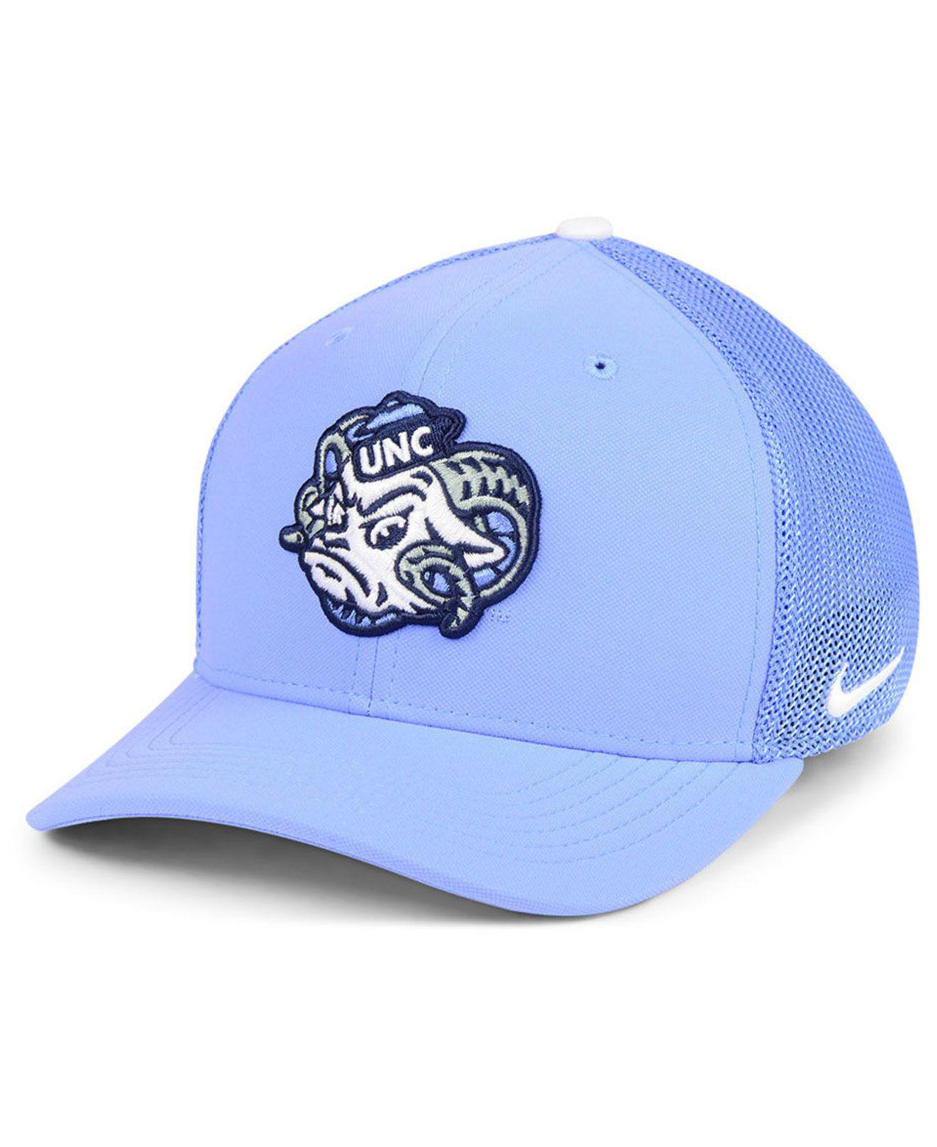 newest collection 9dd88 84df2 Nike. Men s Blue North Carolina Tar Heels Col Aro Swooshflex Cap