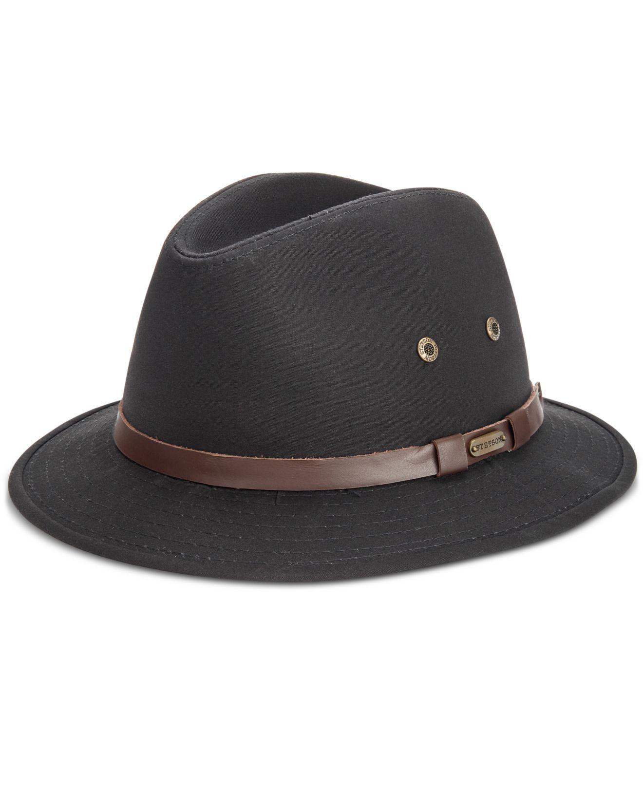 025a0164 Lyst - Dorfman Pacific Gable Rain Safari Hat in Black for Men