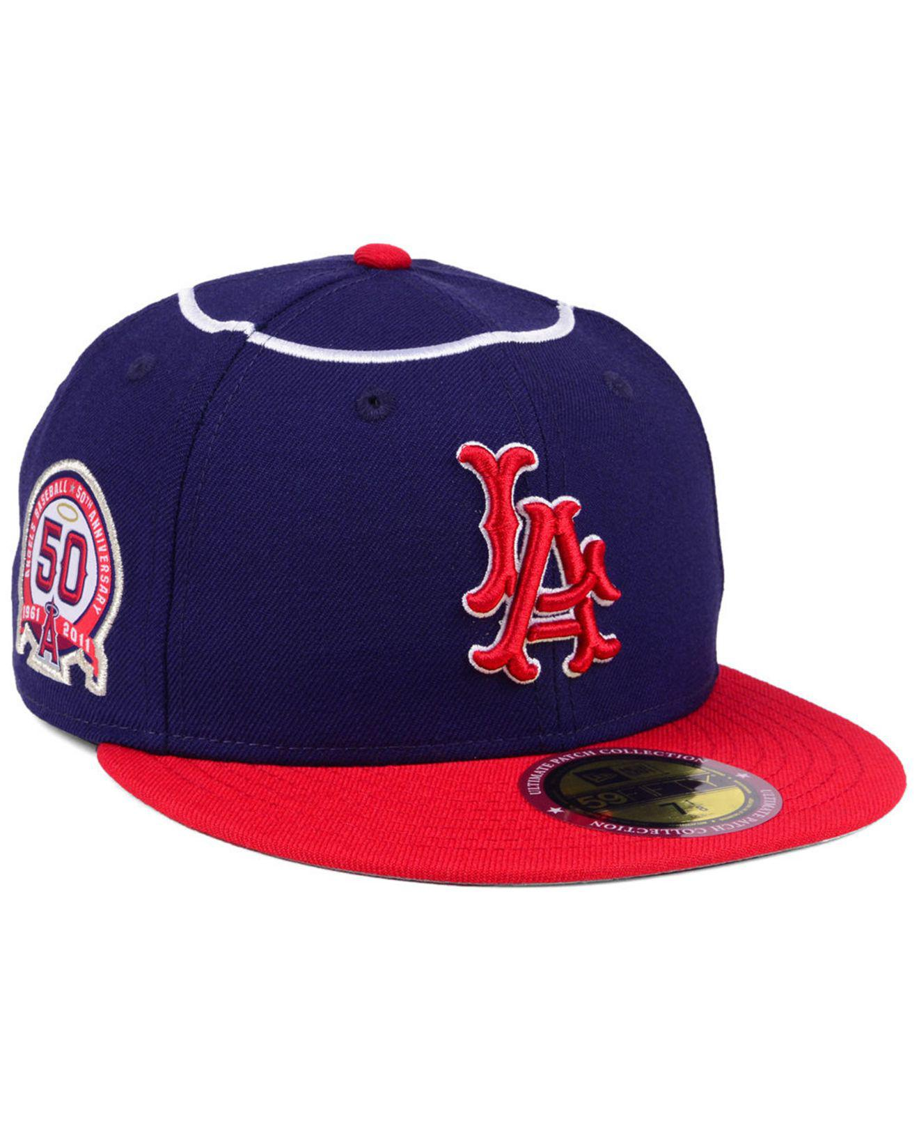 best sneakers 18261 8437a ... Ultimate Patch Collection Anniversary 59fifty Cap for Men - Lyst. View  fullscreen