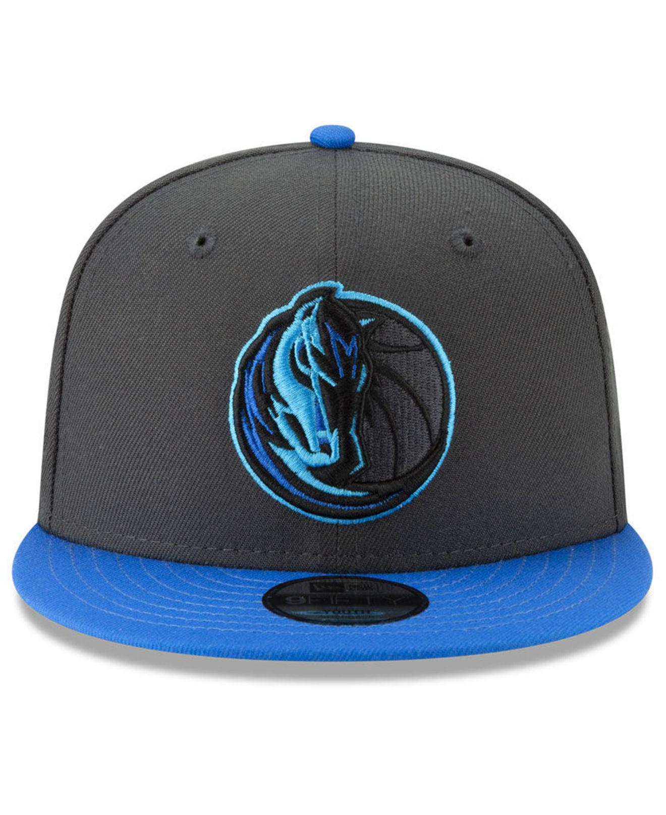 new concept 880f2 5264e KTZ Dallas Mavericks City Series 2.0 9fifty Snapback Cap in Blue for ...