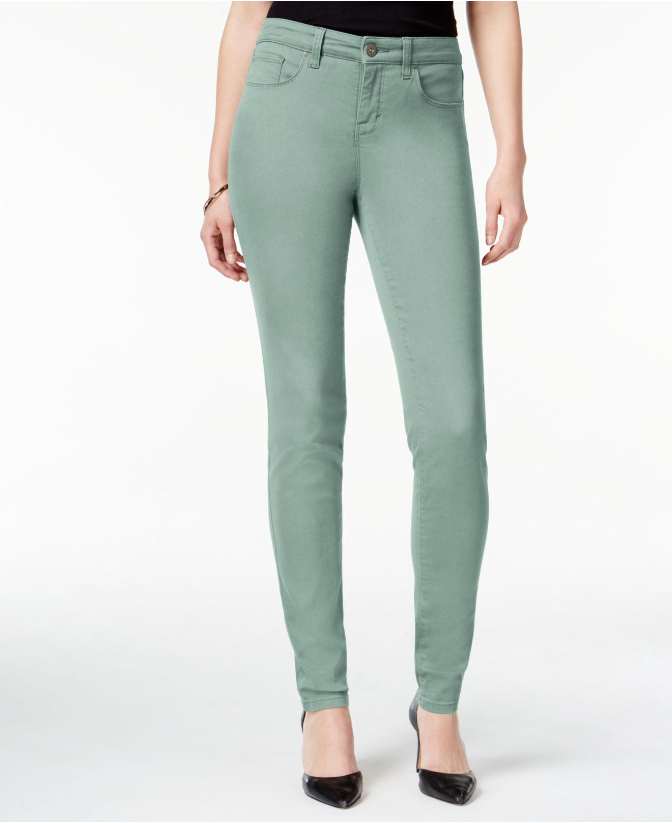 2019 year looks- Green Mint skinny jeans macys pictures