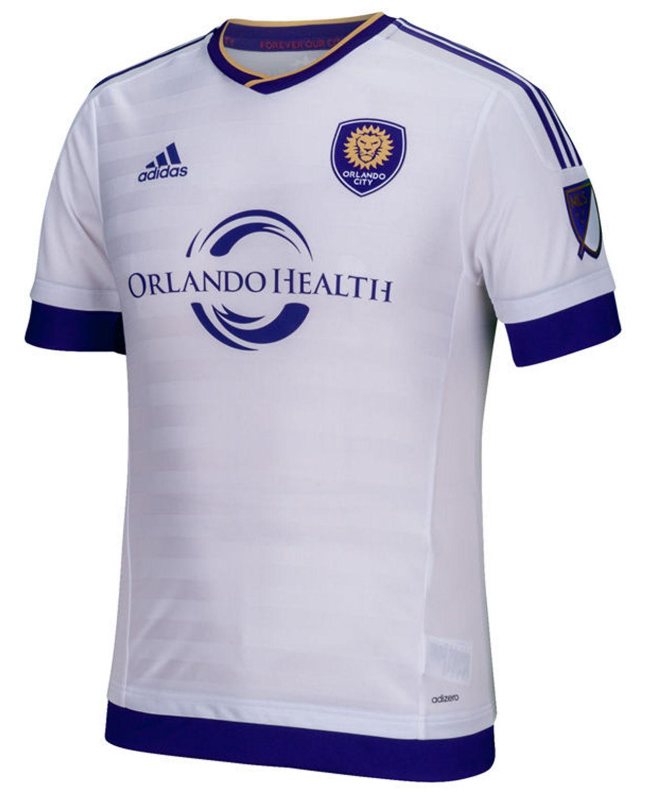 c95310de78e9 Adidas - Purple Orlando City Sc Secondary Authentic Jersey for Men - Lyst.  View fullscreen