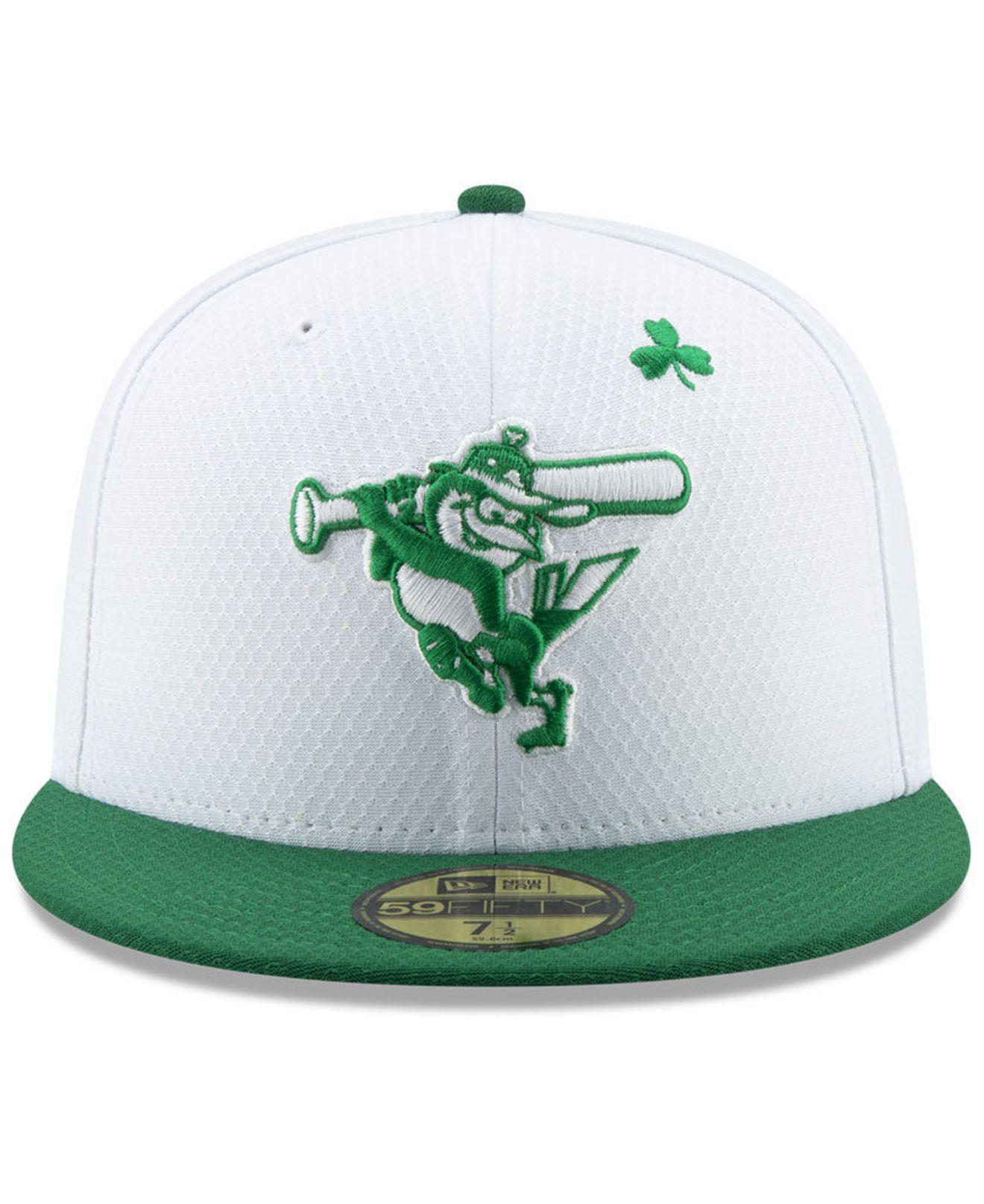 official photos 79f75 c0b69 Lyst - KTZ Baltimore Orioles St. Pattys Day 59fifty-fitted Cap in Green for  Men