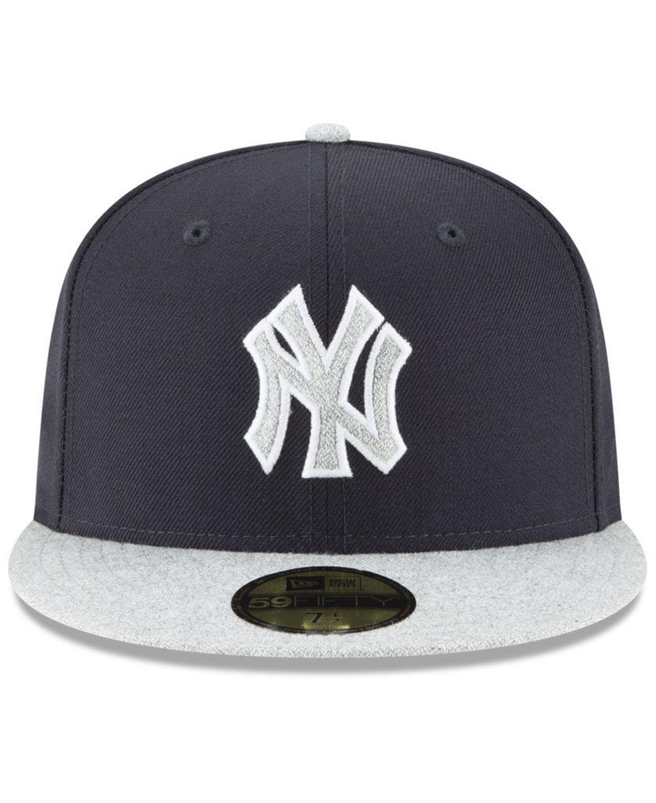 5c13a968b70997 ... cheap lyst ktz new york yankees pop color 59fifty fitted cap in blue for  men 99d4c