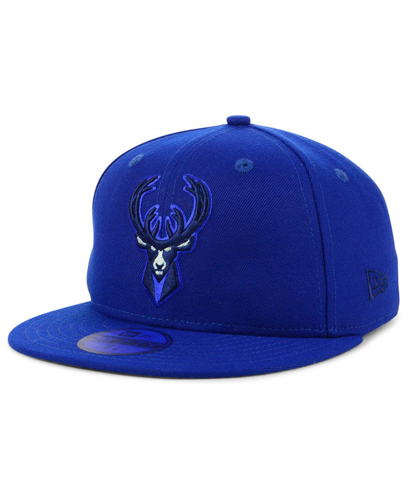 new product fd18c db4c3 ... new era nba color prism pack 59fifty cap 103e3 83109  discount code for  ktz. mens blue milwaukee bucks color prism pack 59fifty fitted cap 60967