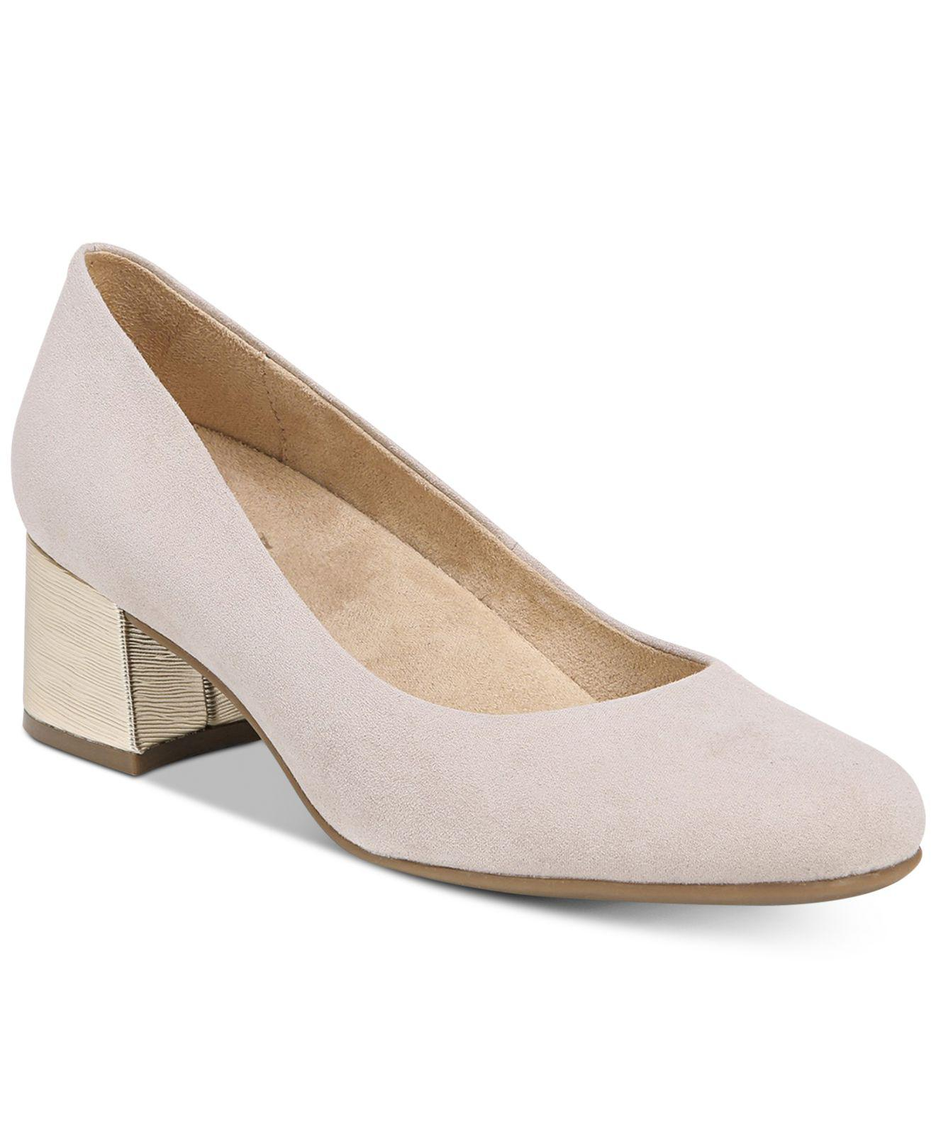 533fe42011ac Lyst - Naturalizer Donelle Pumps in Gray