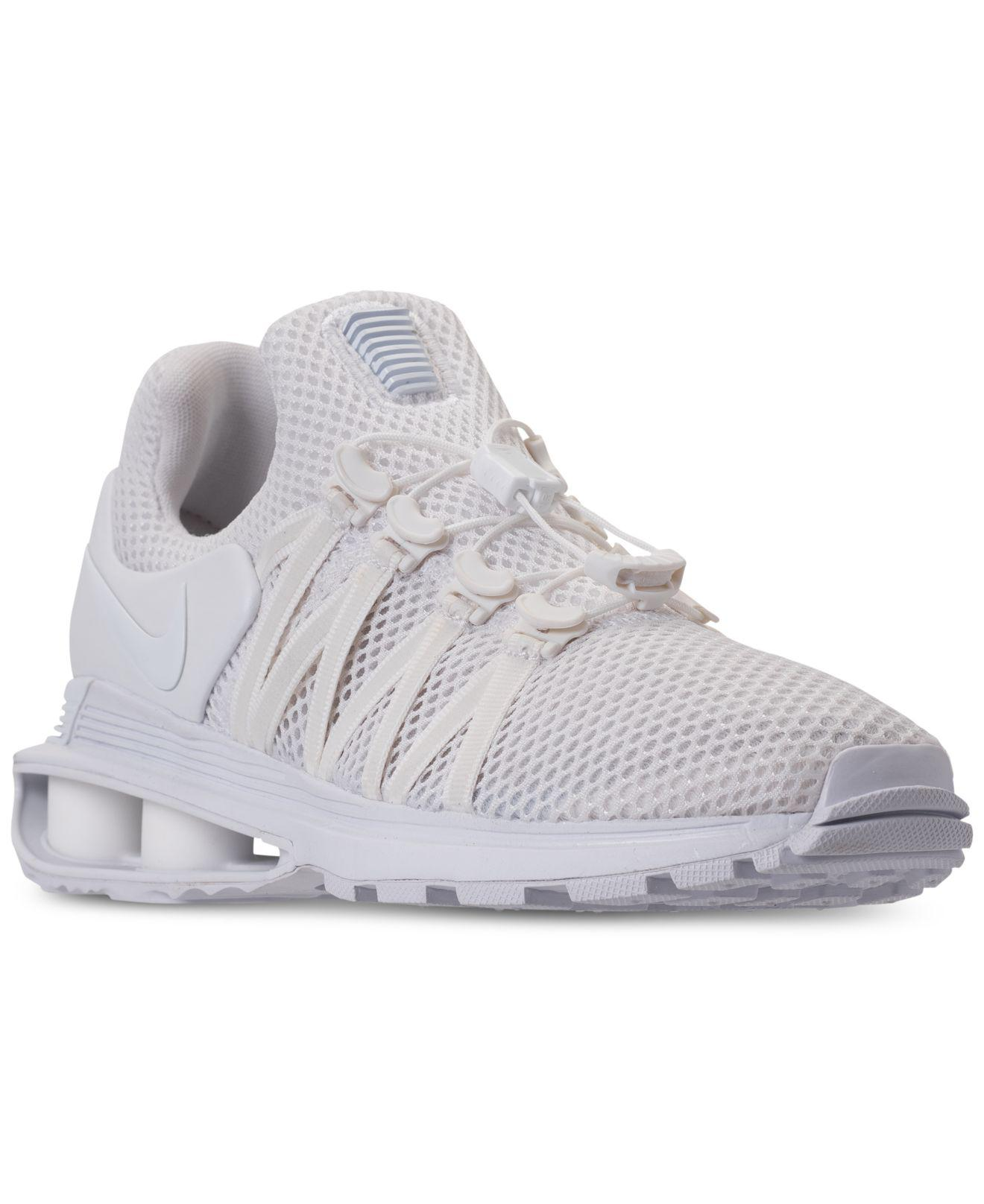 Nike - White Shox Gravity Casual Sneakers From Finish Line - Lyst. View  Fullscreen