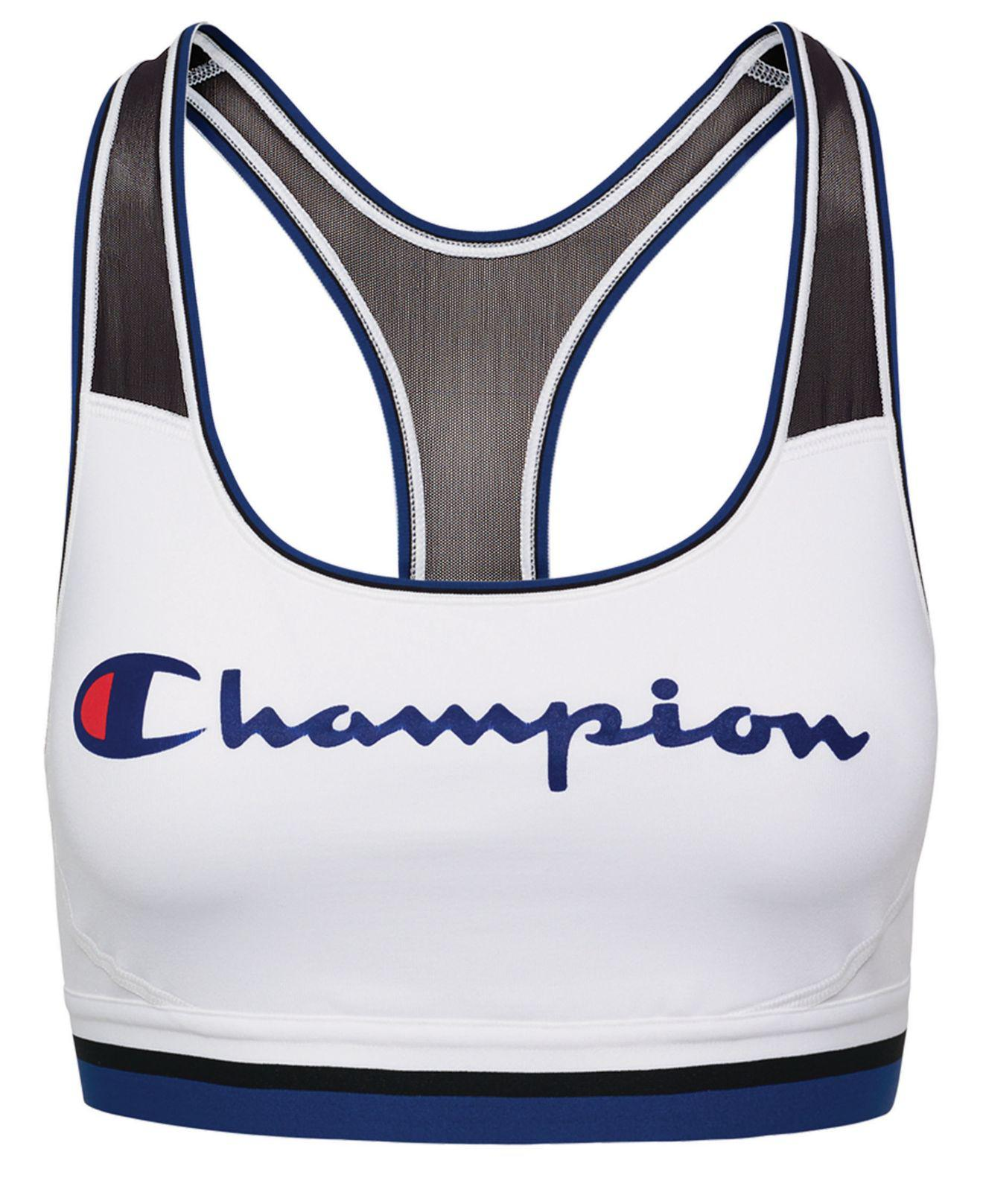 659606036be71 Lyst - Champion Absolute Racerback Medium-support Sports Bra in White