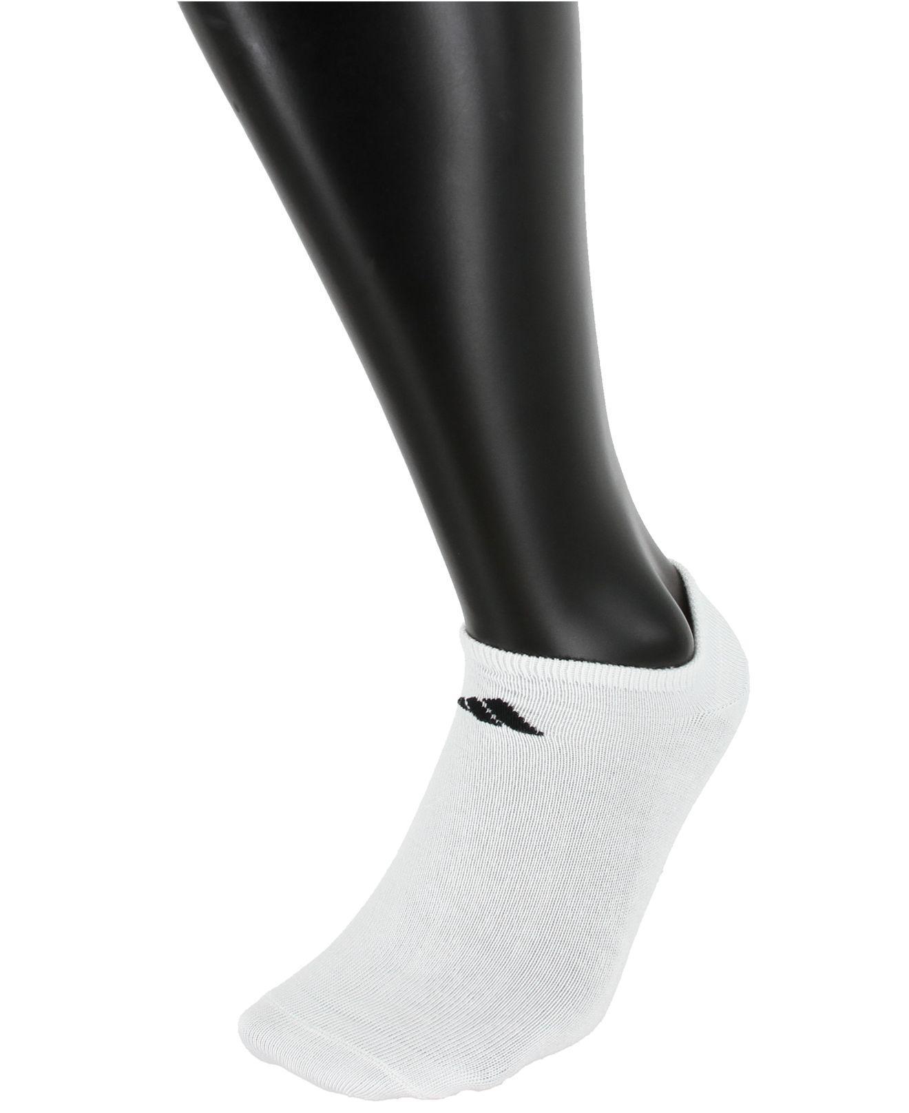 Lyst Adidas hombre 's 6 Superlite no show Socks en blanco para los hombres