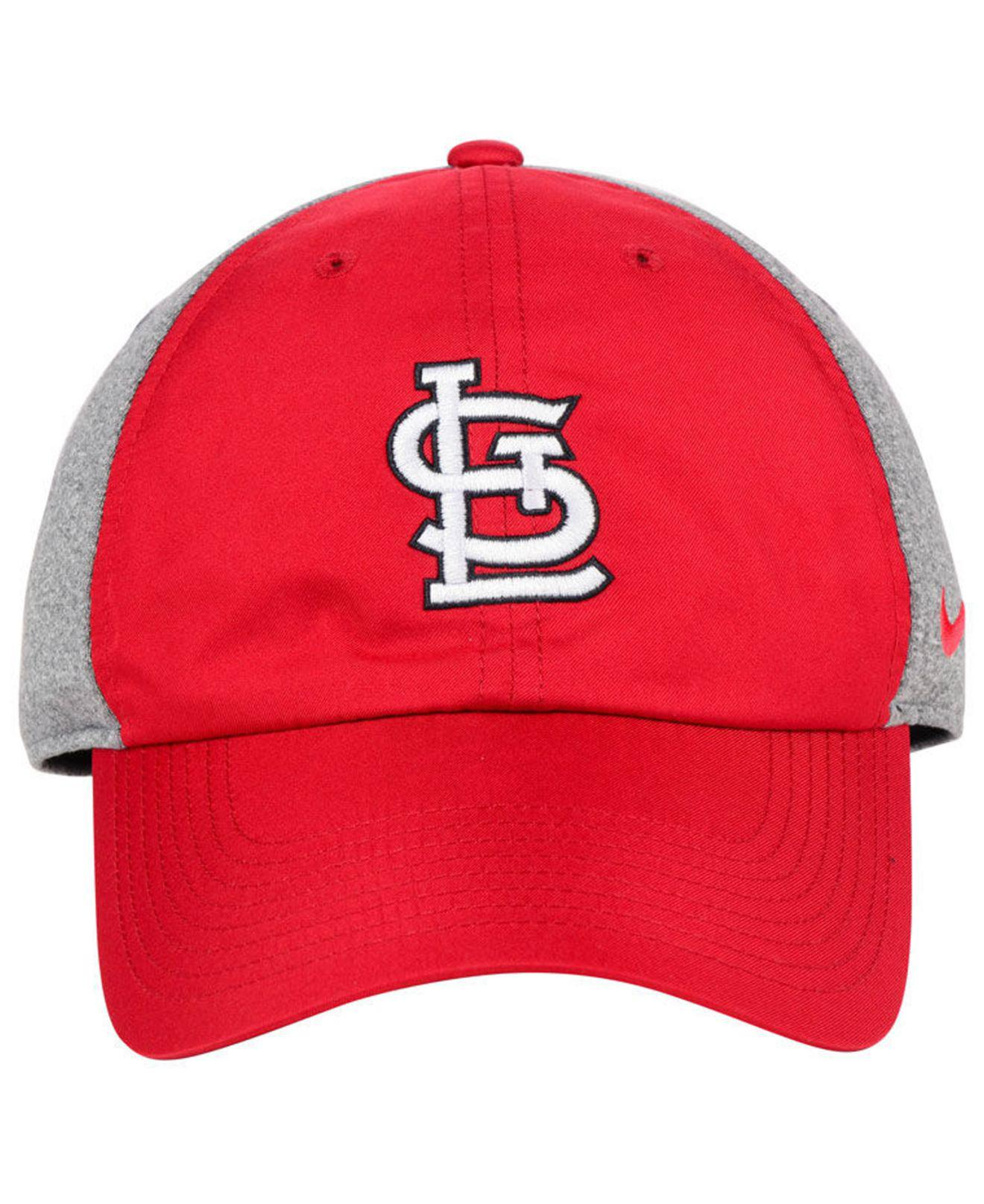 ... coupon code for lyst nike st. louis cardinals new day legend cap in red  for c46a1f479dfb