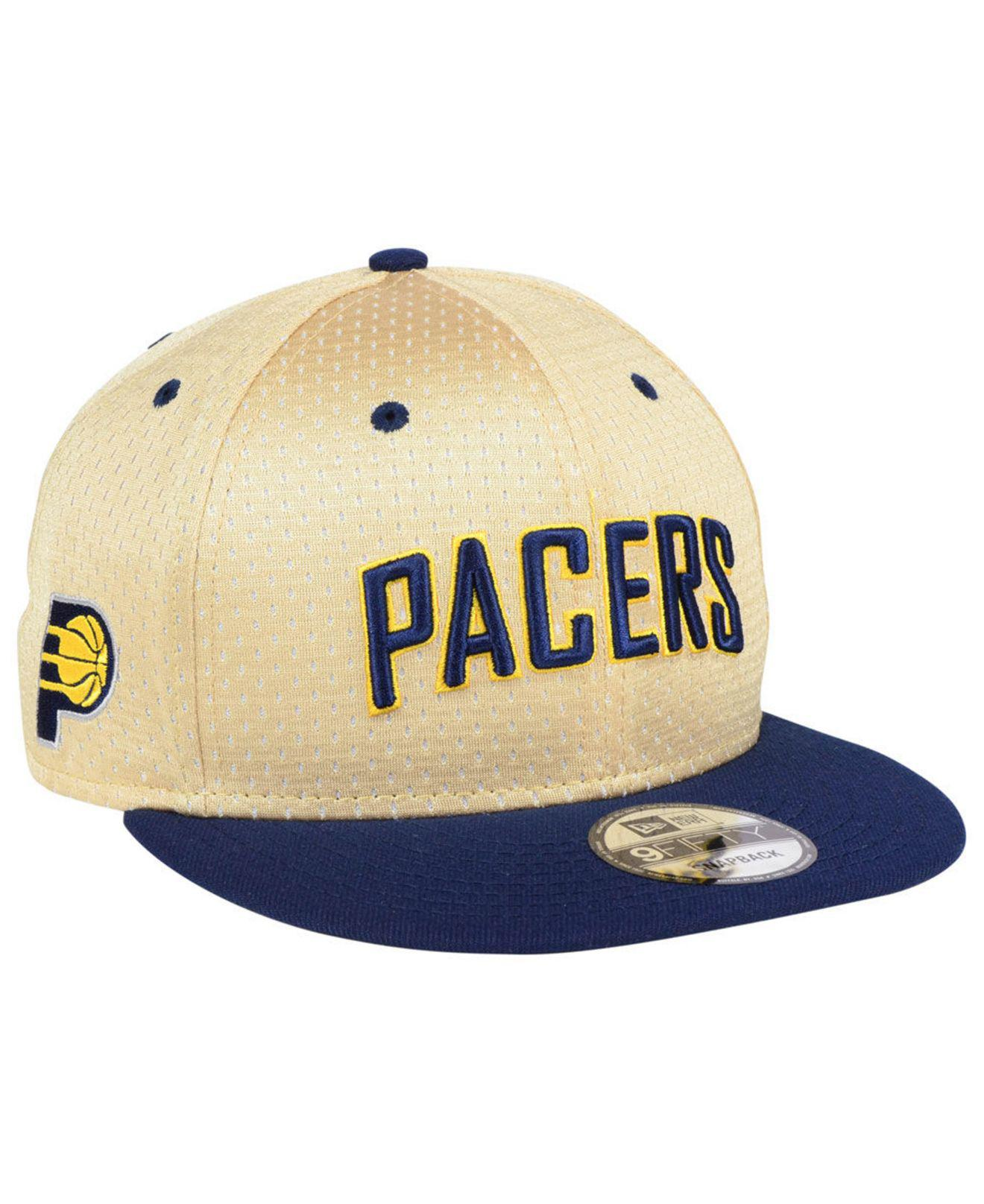 Lyst - Ktz Indiana Pacers Champagne 9fifty Snapback Cap in Blue for Men 7f2bded178d