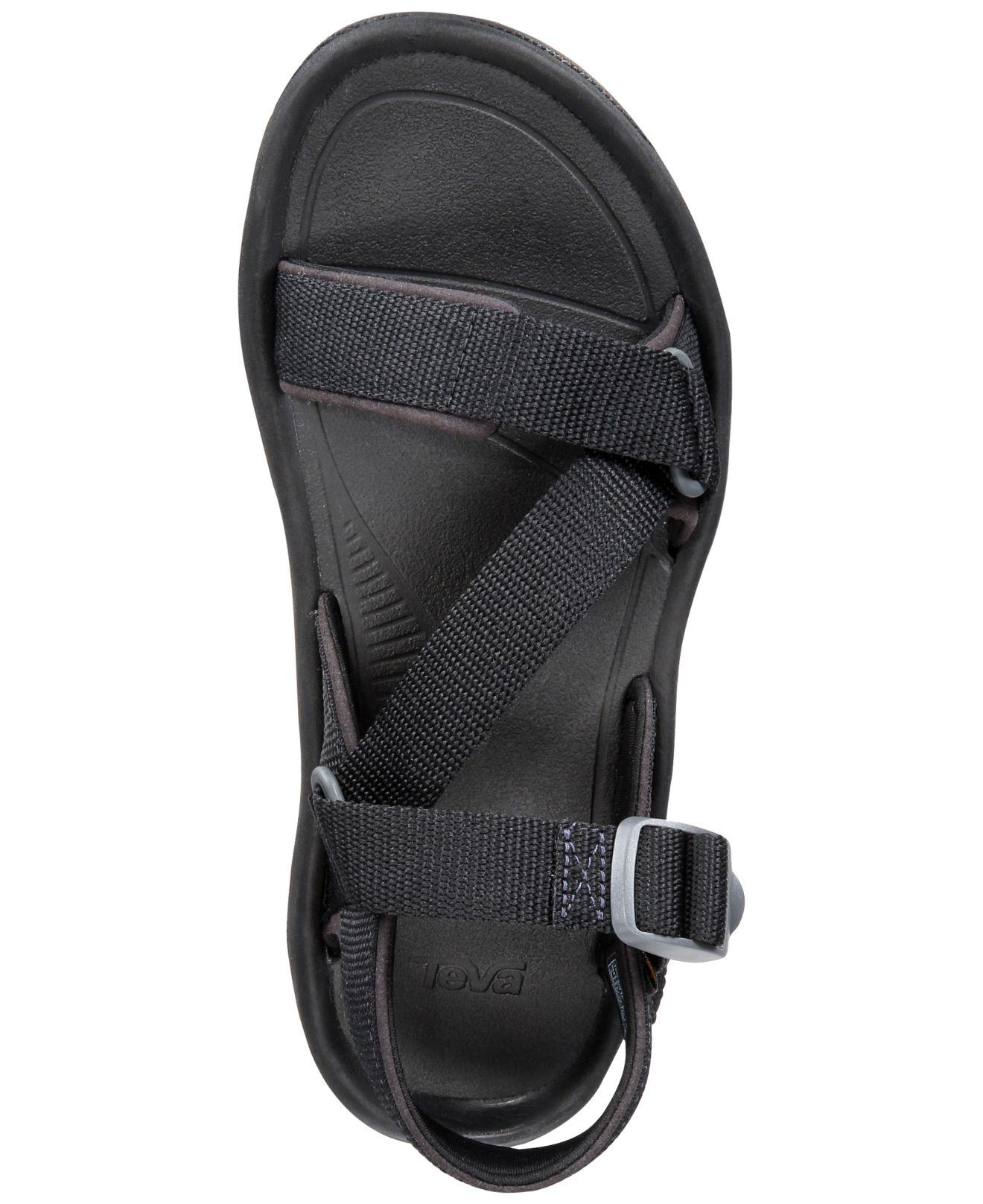 dee5b3d7cc7b Teva - Black Hurricane Xlt2 Cross-strap Water-resistant Sandals - Lyst.  View fullscreen