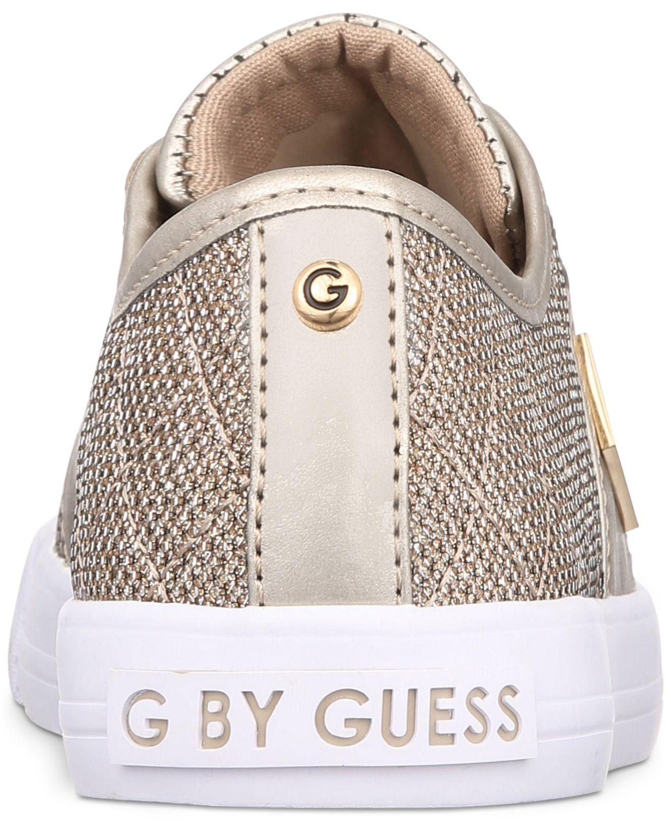 548f6ee8ac8 Lyst - G by Guess Backer Sneakers in Metallic