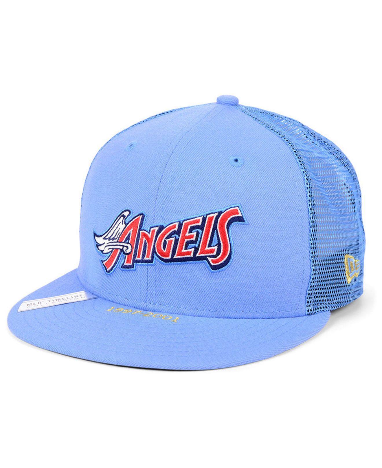 purchase cheap c4987 cad43 KTZ. Men s Blue Los Angeles Angels Timeline Collection 9fifty Cap
